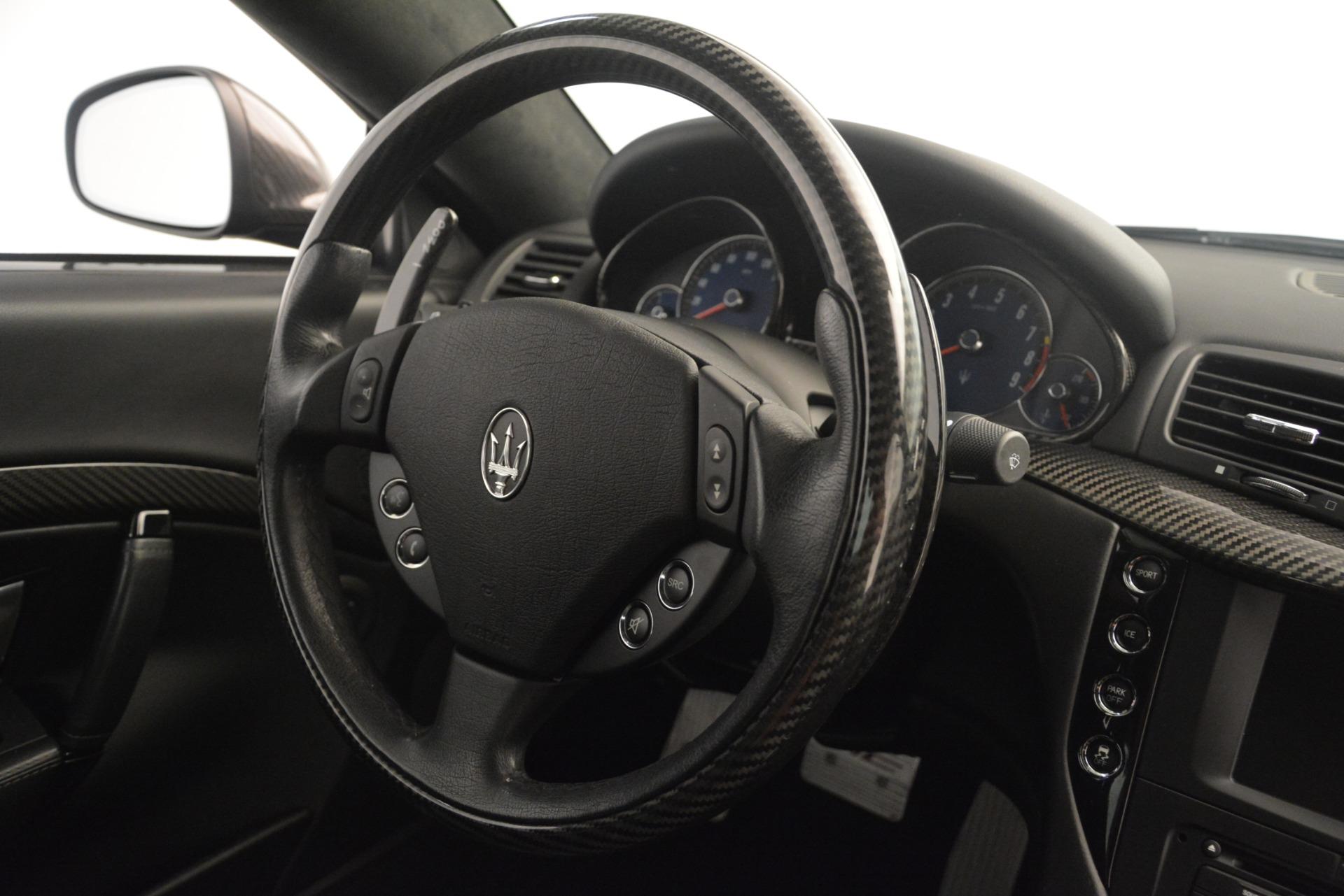 Used 2012 Maserati GranTurismo MC For Sale In Greenwich, CT 1284_p38