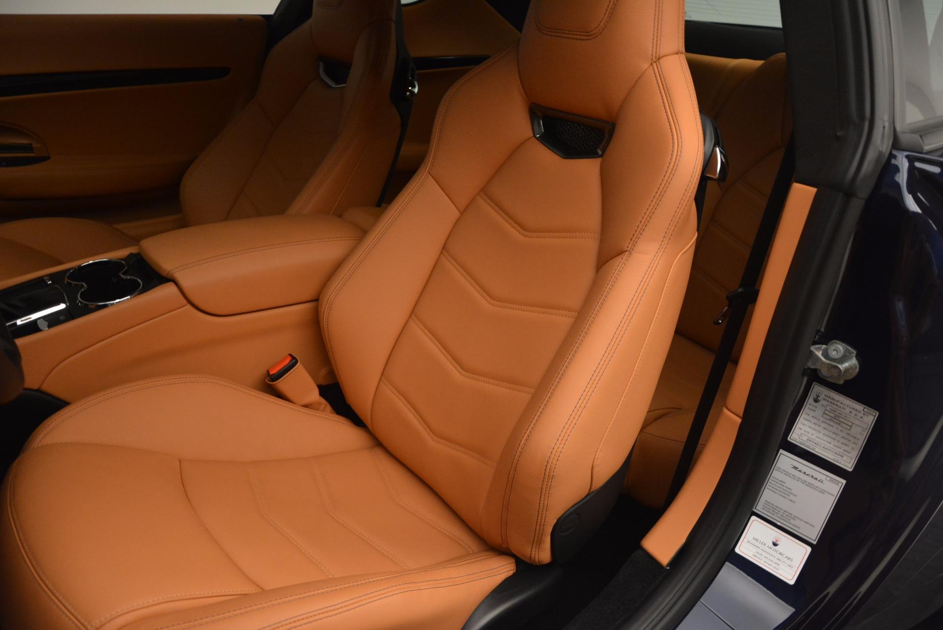 New 2017 Maserati GranTurismo Coupe Sport For Sale In Greenwich, CT 1295_p15
