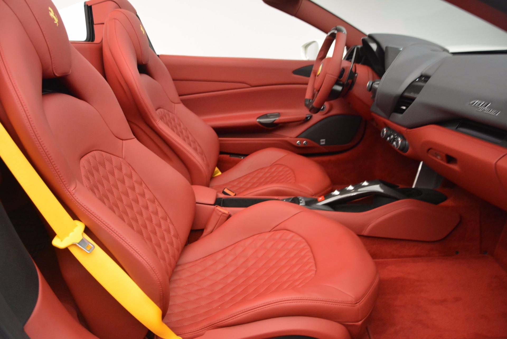 Used 2017 Ferrari 488 Spider  For Sale In Greenwich, CT 1296_p30