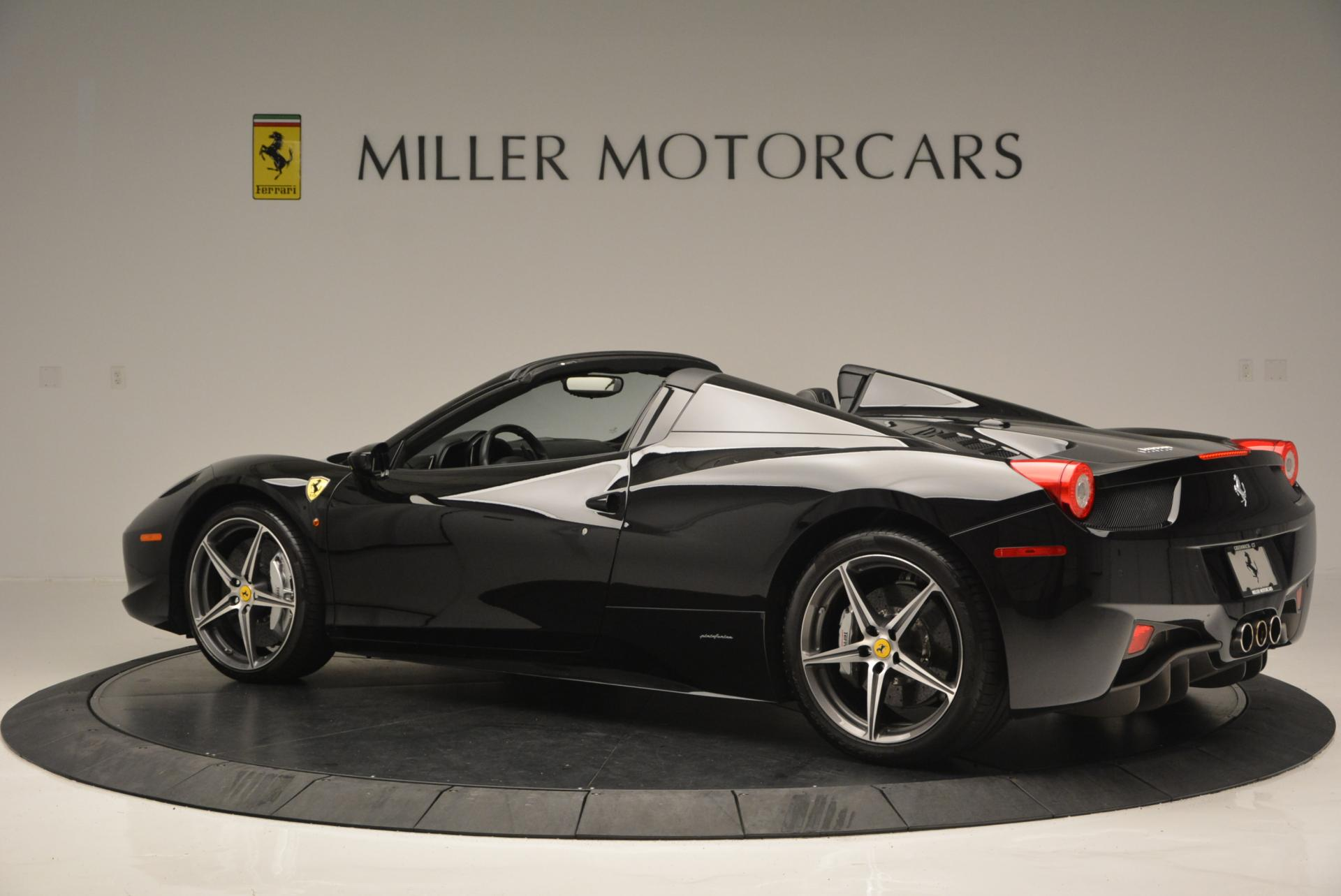 Used 2012 Ferrari 458 Spider  For Sale In Greenwich, CT 130_p4