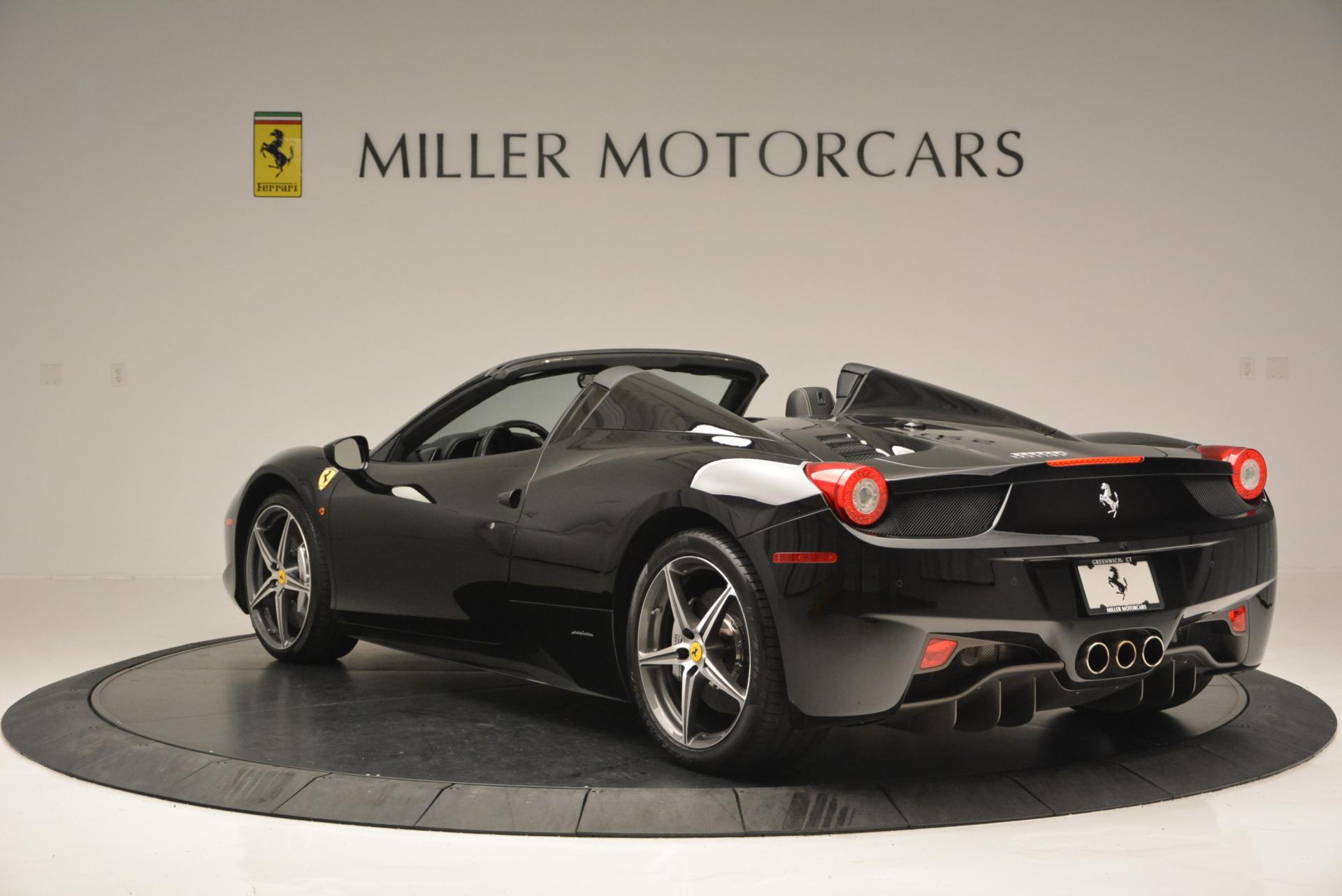 Used 2012 Ferrari 458 Spider  For Sale In Greenwich, CT 130_p5
