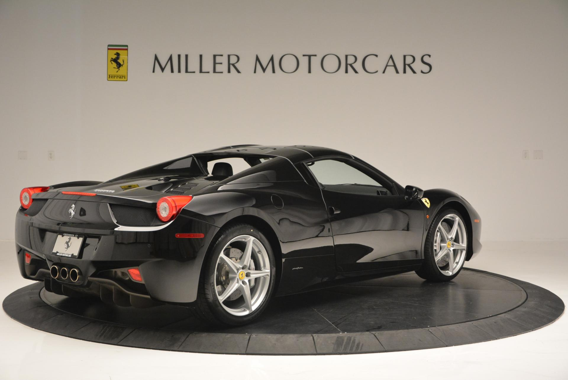 Used 2013 Ferrari 458 Spider  For Sale In Greenwich, CT 132_p20