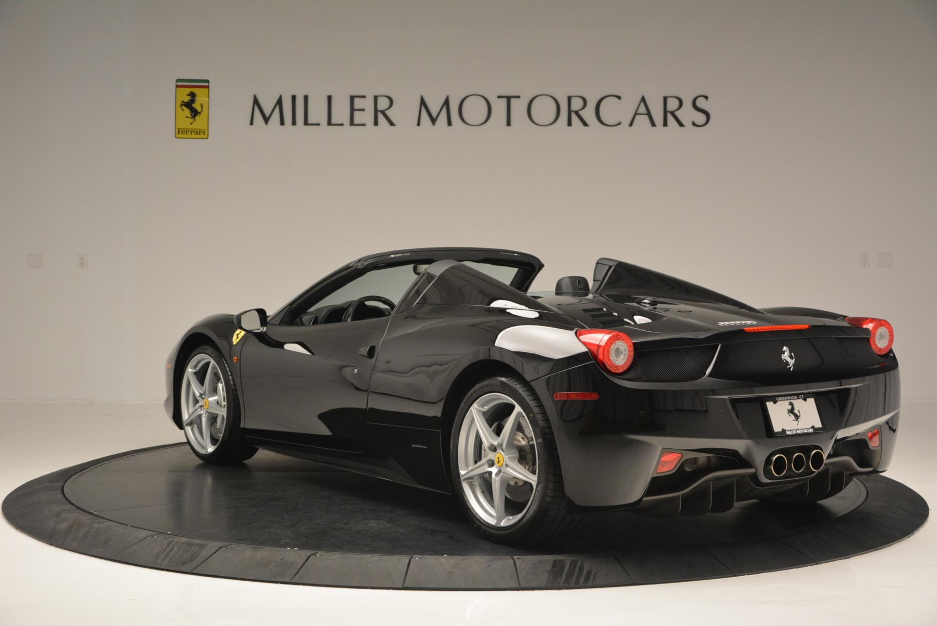 Used 2013 Ferrari 458 Spider  For Sale In Greenwich, CT 132_p5