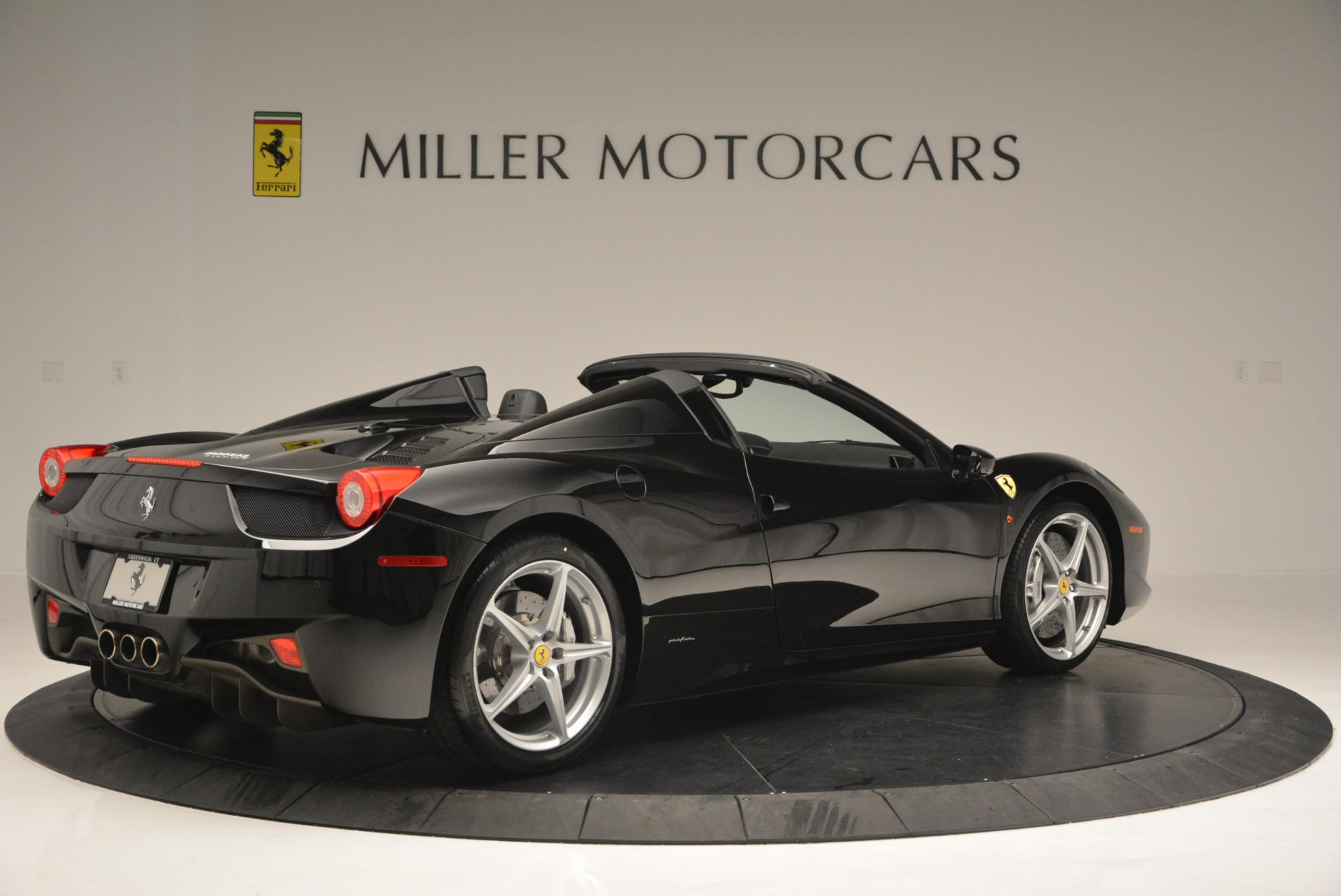 Used 2013 Ferrari 458 Spider  For Sale In Greenwich, CT 132_p8