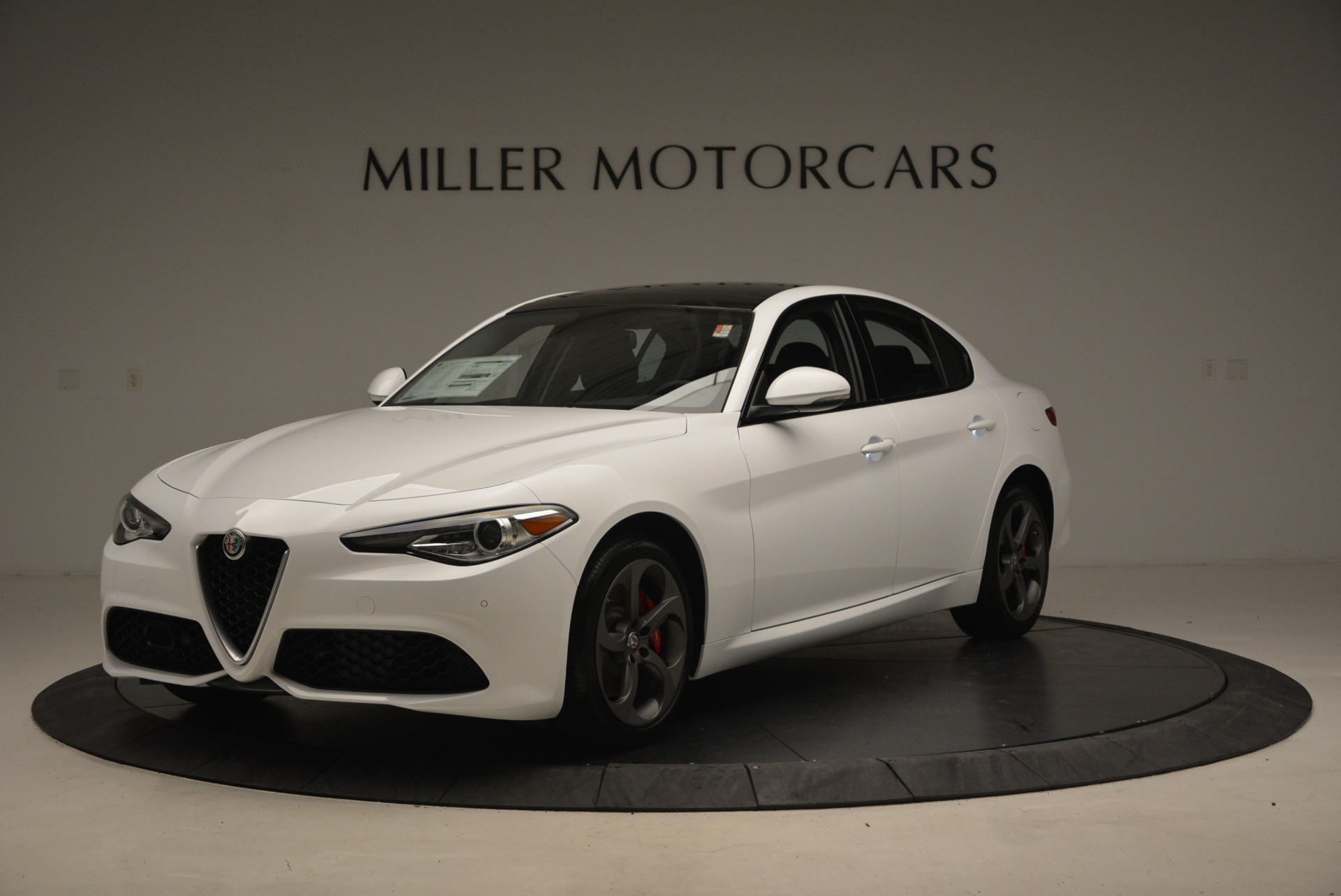 New 2017 Alfa Romeo Giulia Ti Sport Q4 For Sale In Greenwich, CT 1328_main