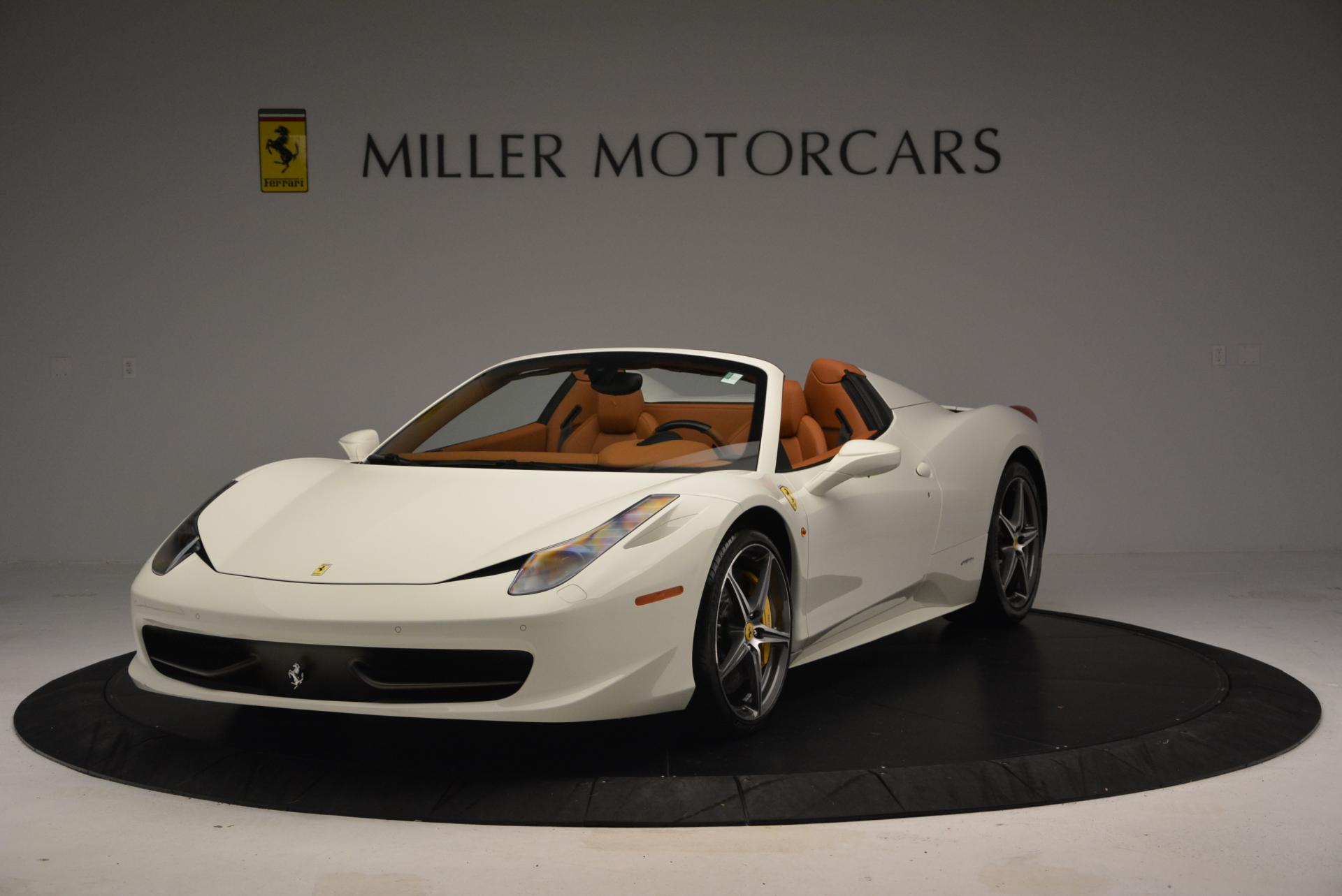 Used 2012 Ferrari 458 Spider  For Sale In Greenwich, CT 133_main