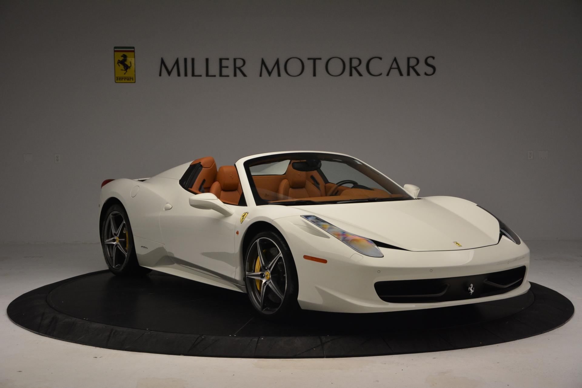 Used 2012 Ferrari 458 Spider  For Sale In Greenwich, CT 133_p11