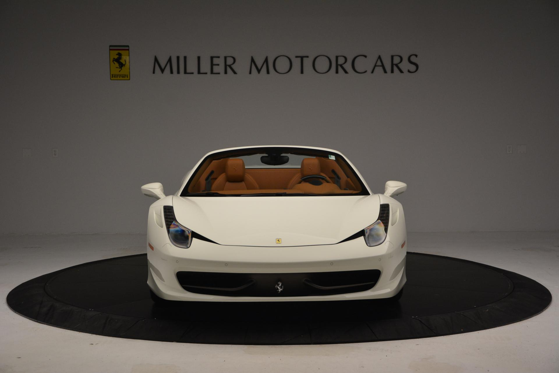 Used 2012 Ferrari 458 Spider  For Sale In Greenwich, CT 133_p12