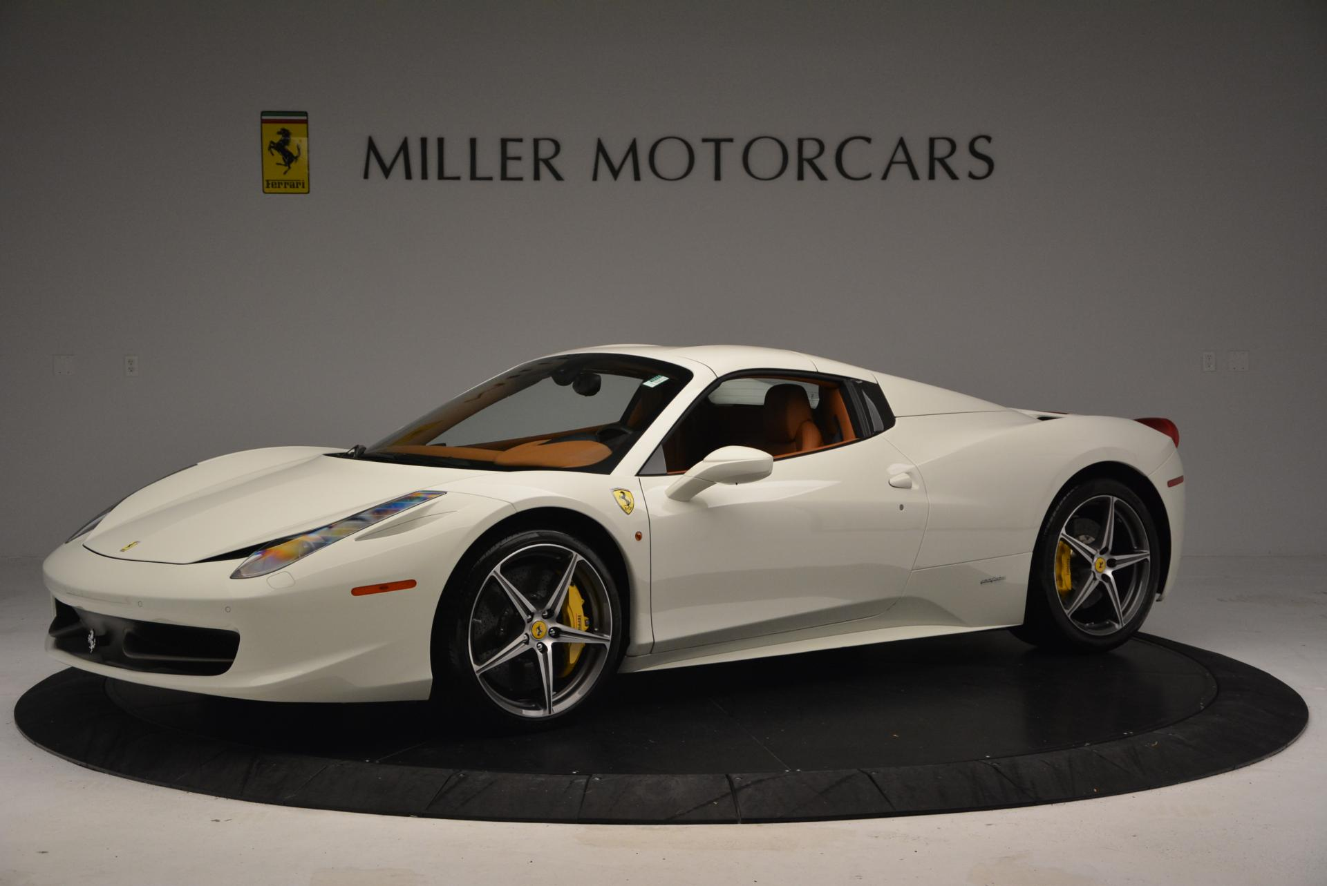 Used 2012 Ferrari 458 Spider  For Sale In Greenwich, CT 133_p14