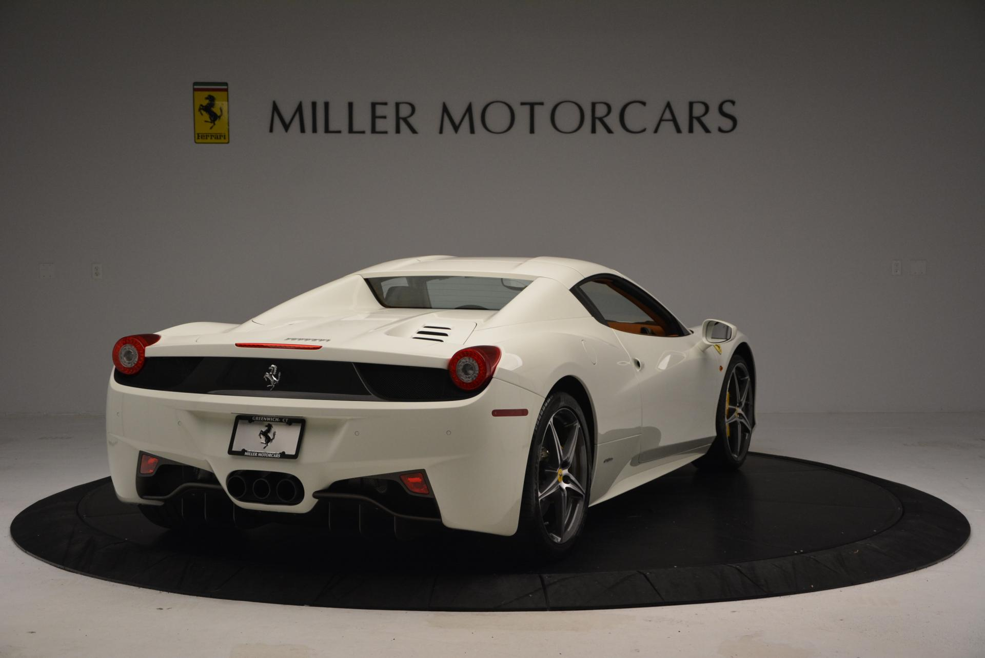 Used 2012 Ferrari 458 Spider  For Sale In Greenwich, CT 133_p19
