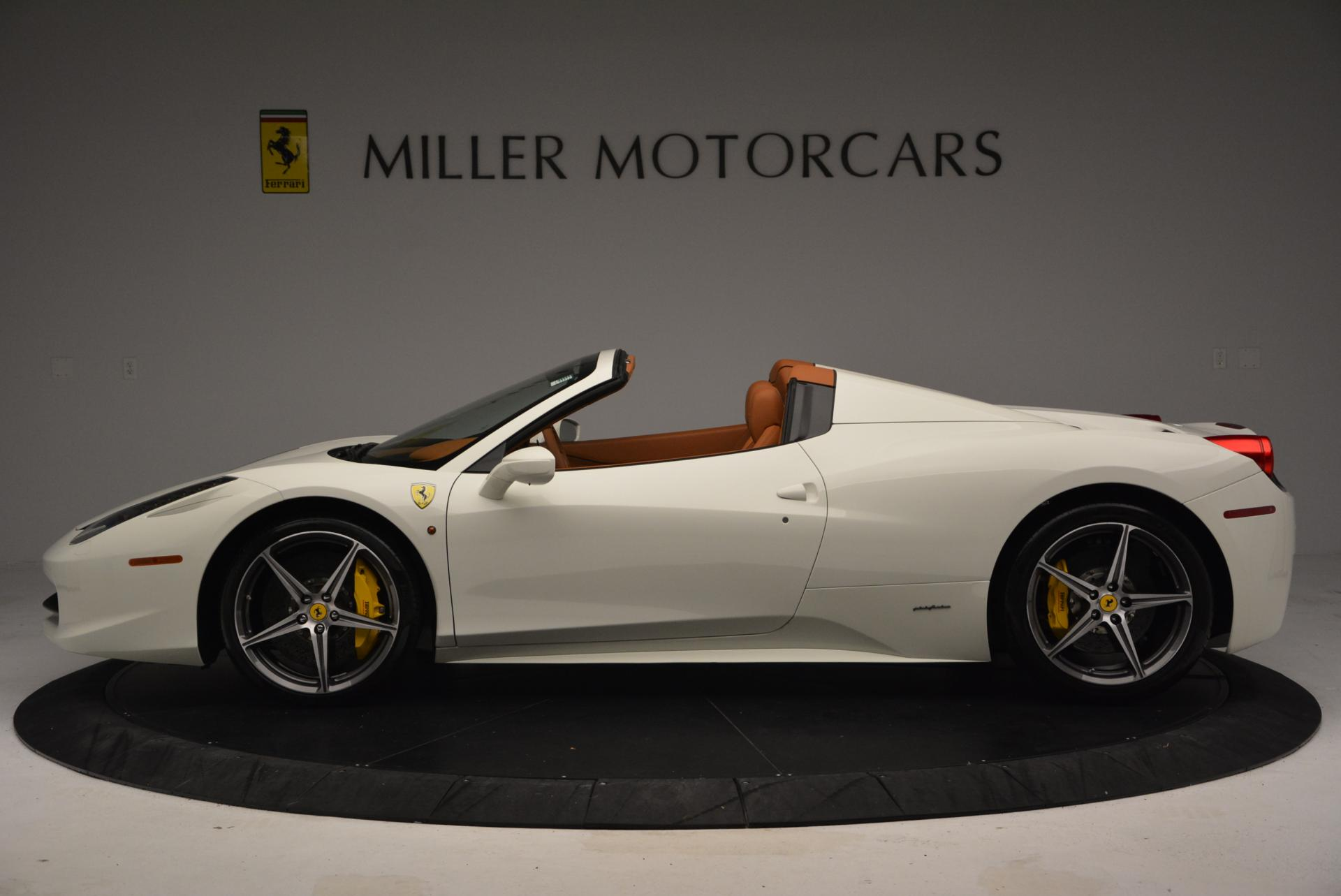 Used 2012 Ferrari 458 Spider  For Sale In Greenwich, CT 133_p3