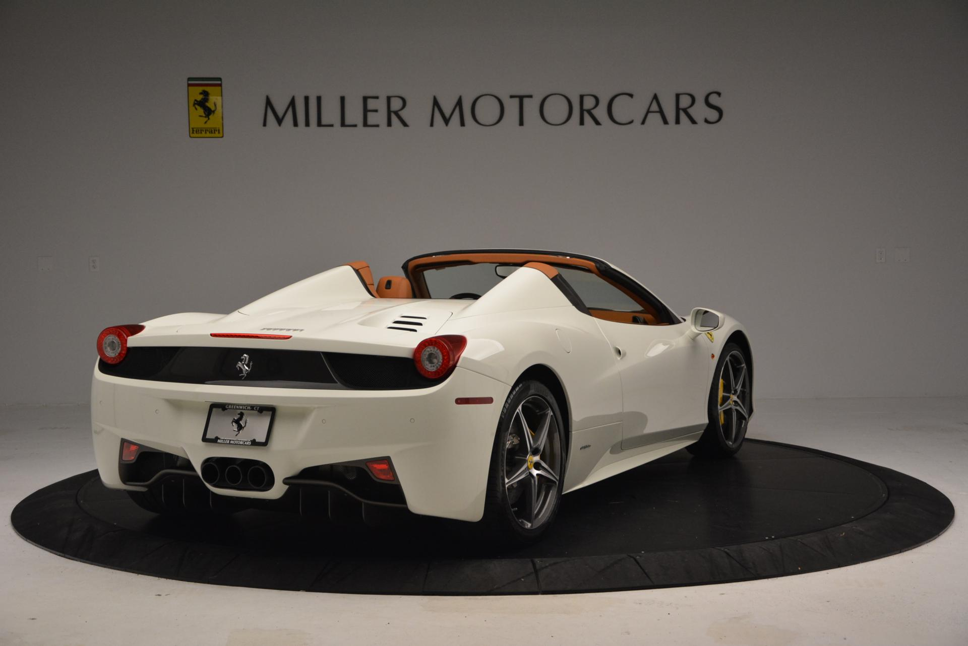 Used 2012 Ferrari 458 Spider  For Sale In Greenwich, CT 133_p7