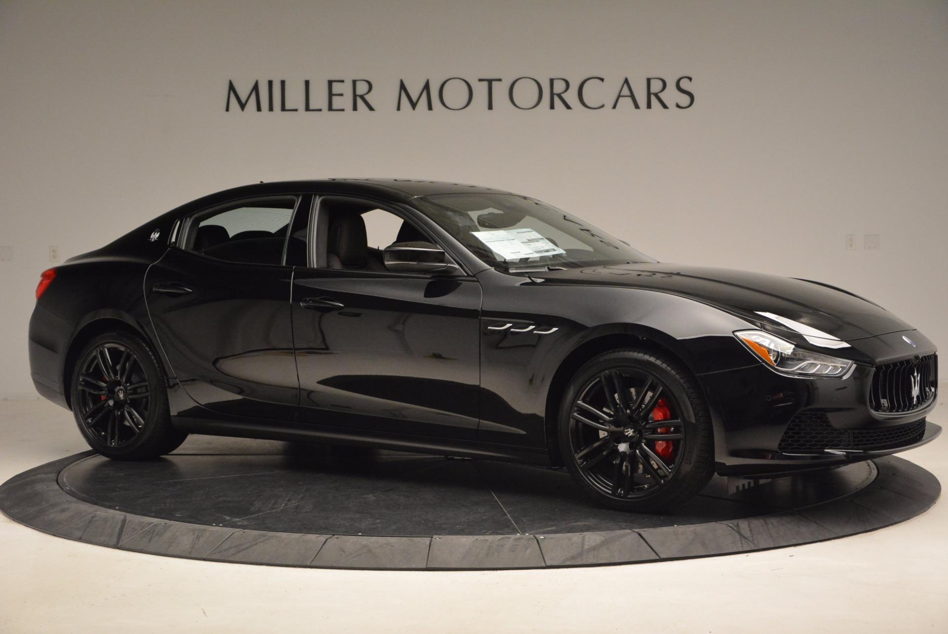 New 2017 Maserati Ghibli SQ4 S Q4 Nerissimo Edition For Sale In Greenwich, CT 1334_p10