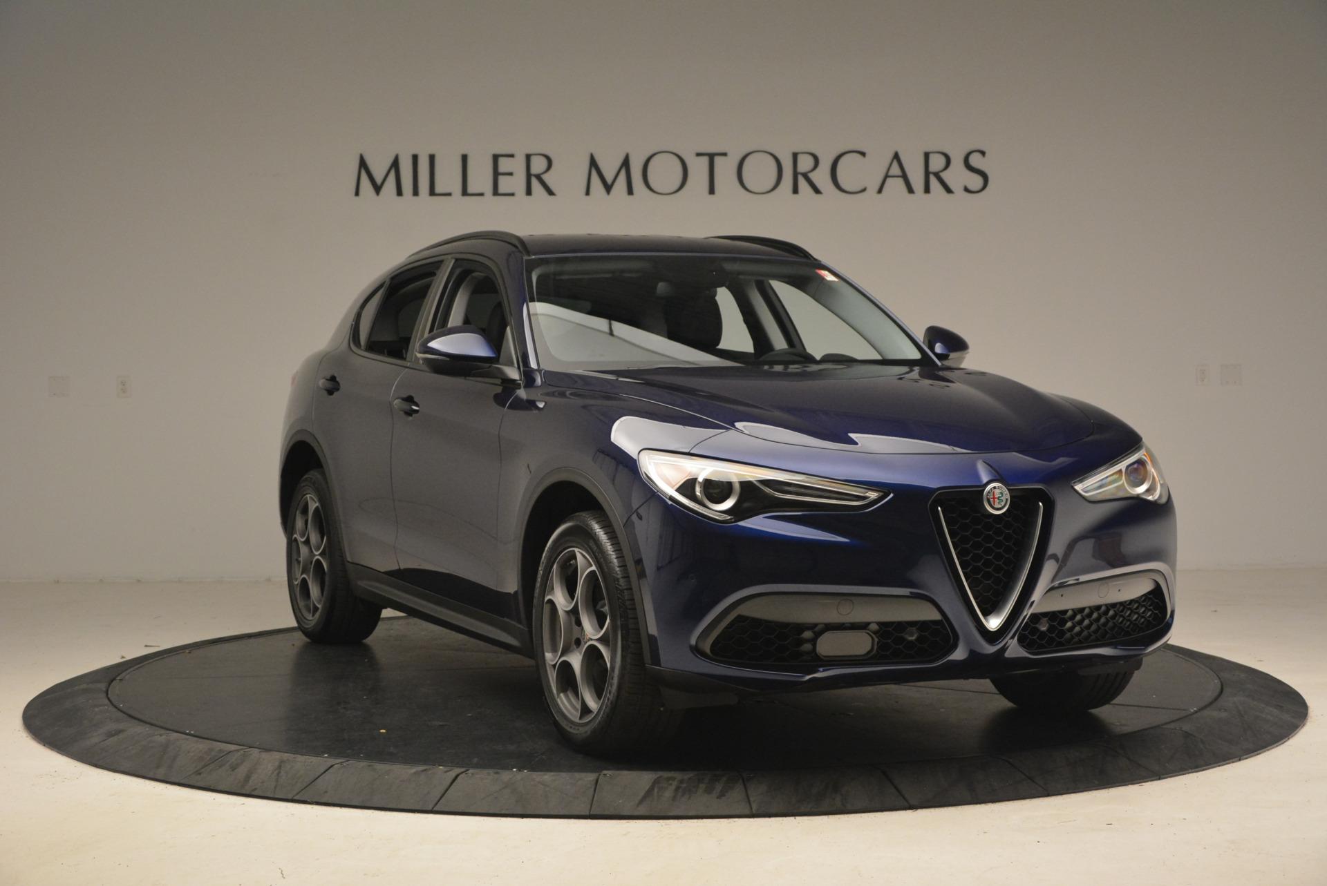New 2018 Alfa Romeo Stelvio Sport Q4 For Sale In Greenwich, CT 1350_p12