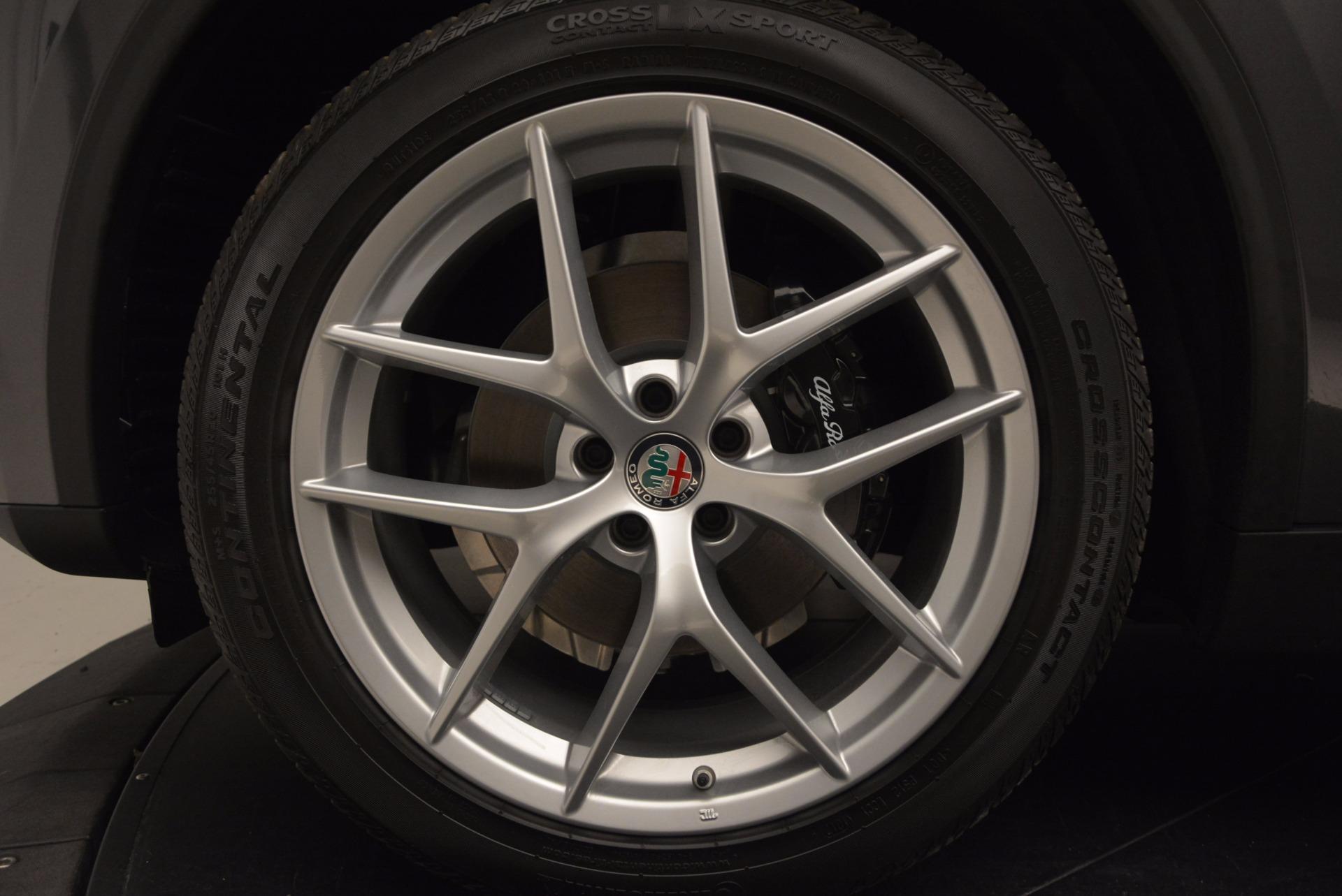 New 2018 Alfa Romeo Stelvio Ti Sport Q4 For Sale In Greenwich, CT 1353_p25