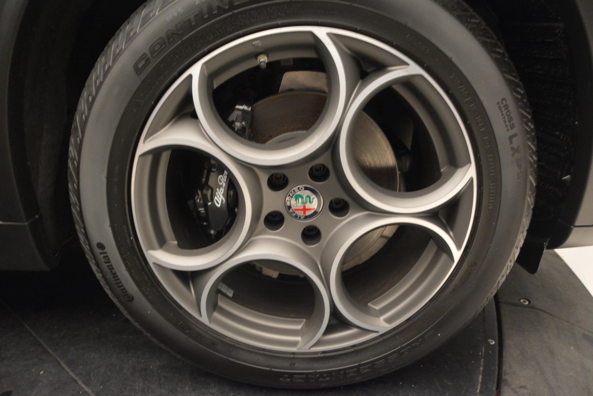 New 2018 Alfa Romeo Stelvio Sport Q4 For Sale In Greenwich, CT 1367_p25