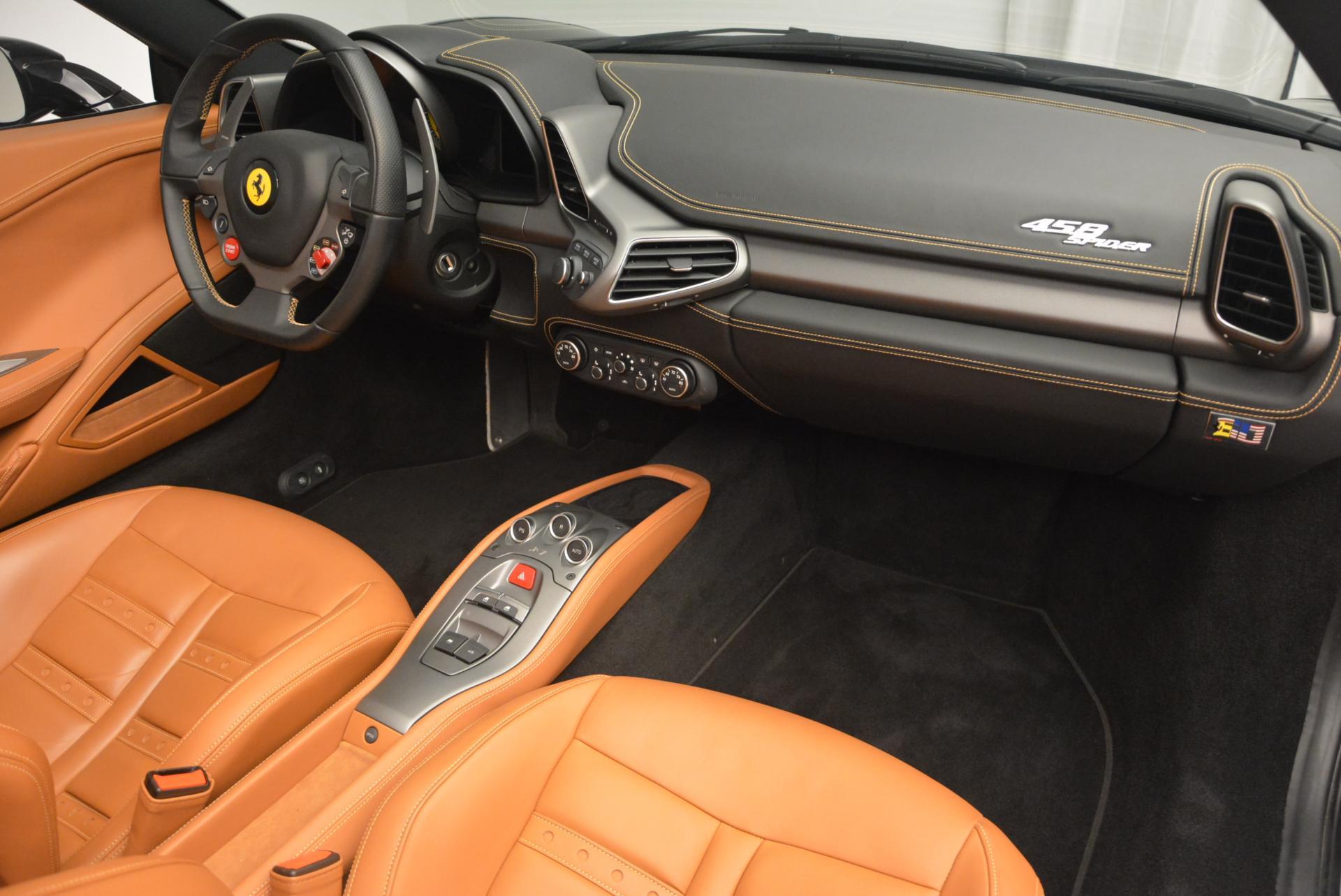 Used 2015 Ferrari 458 Spider  For Sale In Greenwich, CT 137_p29