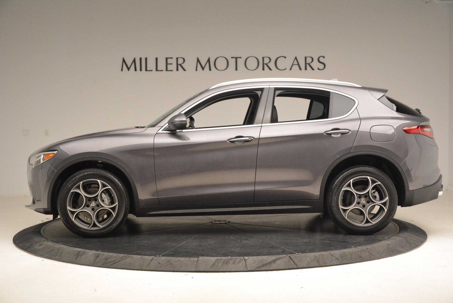 New 2018 Alfa Romeo Stelvio Q4 For Sale In Greenwich, CT 1376_p3