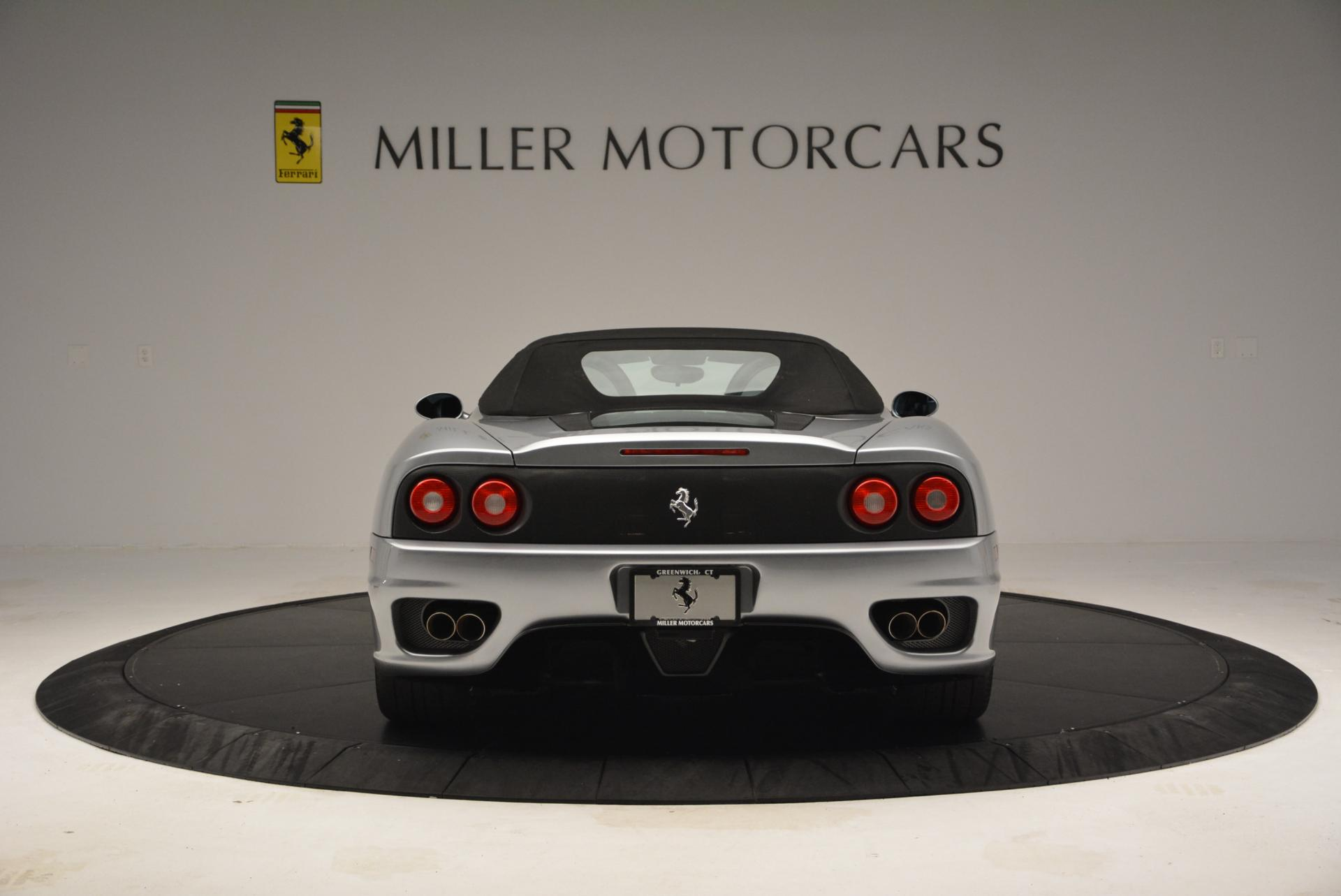 Used 2004 Ferrari 360 Spider 6-Speed Manual  For Sale In Greenwich, CT 138_p18