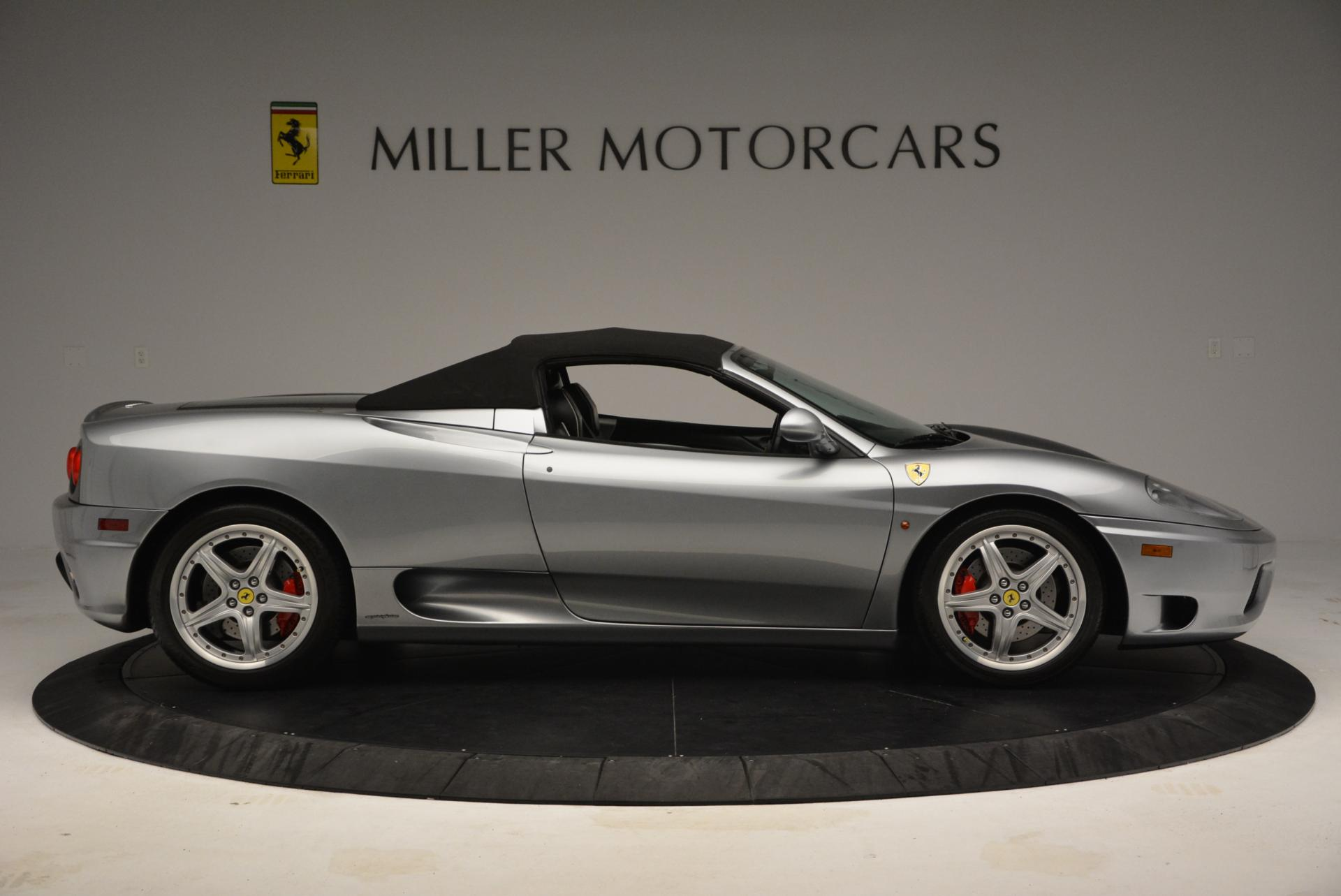 Used 2004 Ferrari 360 Spider 6-Speed Manual  For Sale In Greenwich, CT 138_p21
