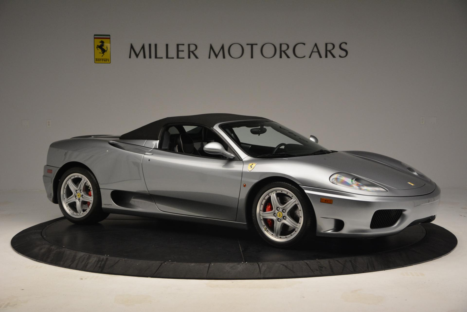 Used 2004 Ferrari 360 Spider 6-Speed Manual  For Sale In Greenwich, CT 138_p22