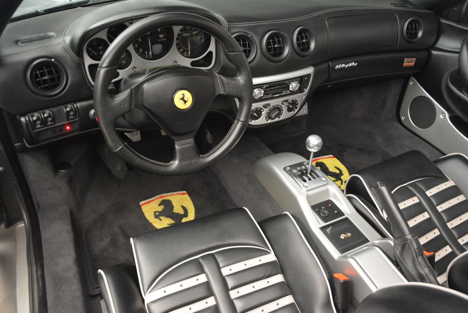 Used 2004 Ferrari 360 Spider 6-Speed Manual  For Sale In Greenwich, CT 138_p25