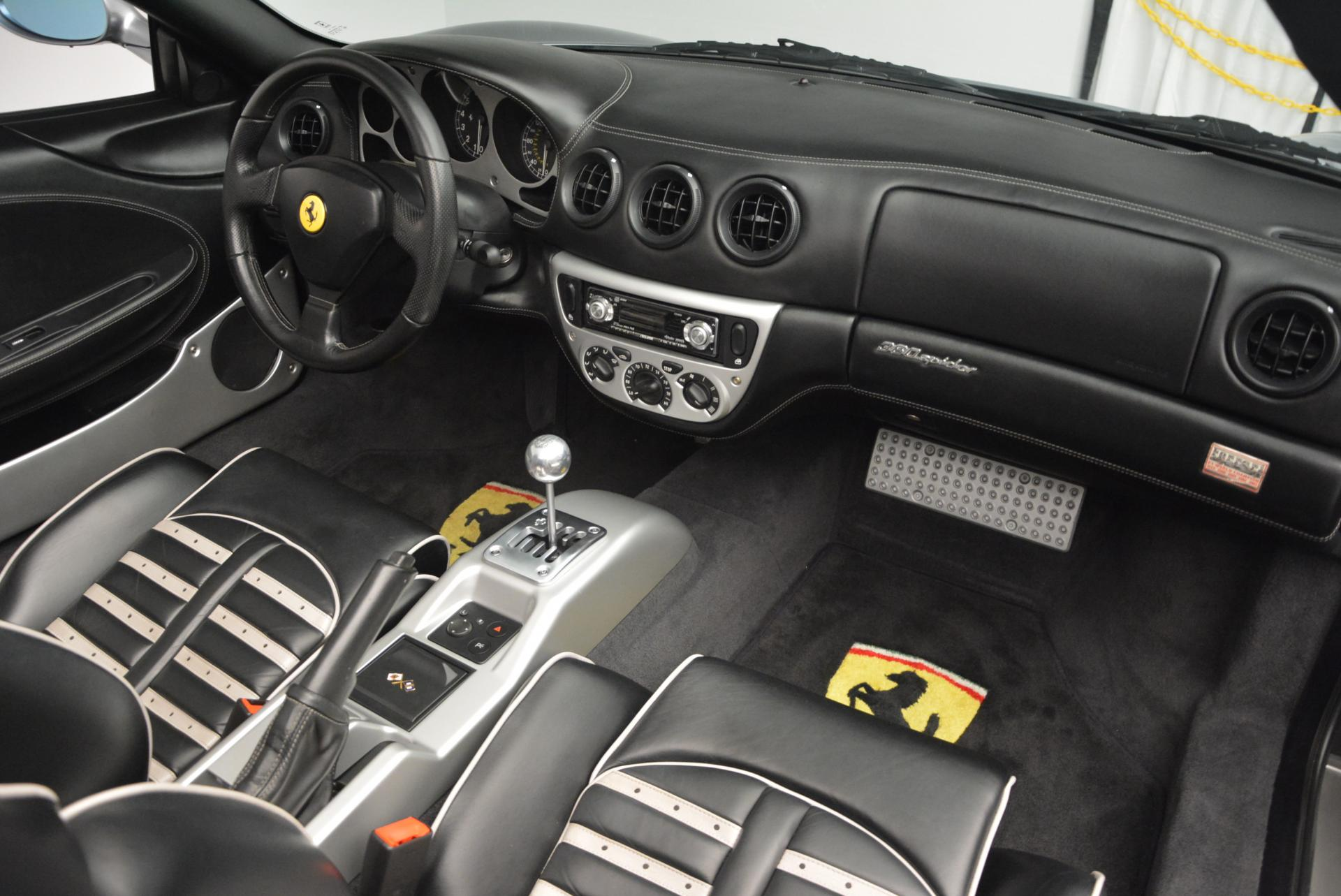 Used 2004 Ferrari 360 Spider 6-Speed Manual  For Sale In Greenwich, CT 138_p29