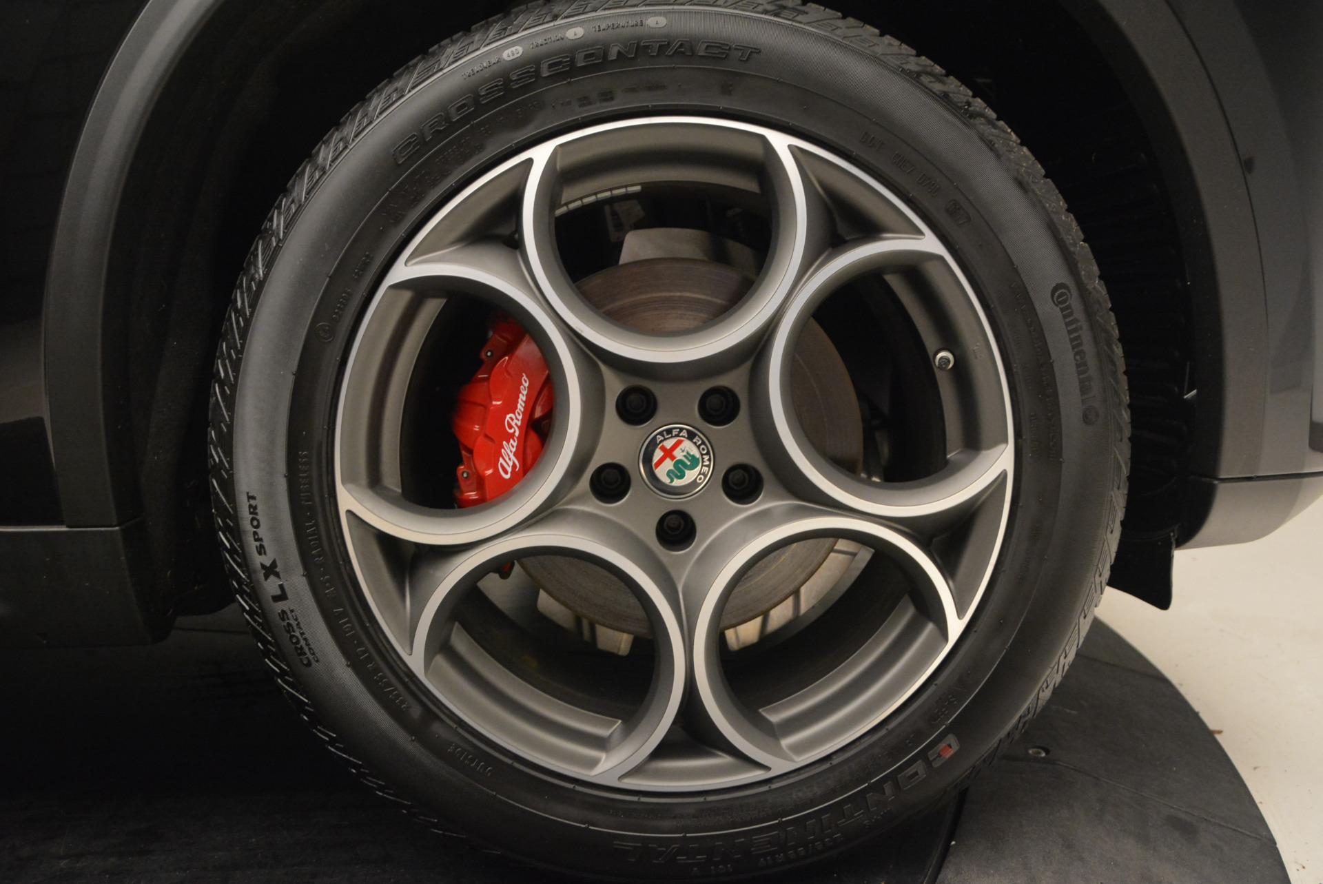 New 2018 Alfa Romeo Stelvio Sport Q4 For Sale In Greenwich, CT 1380_p25