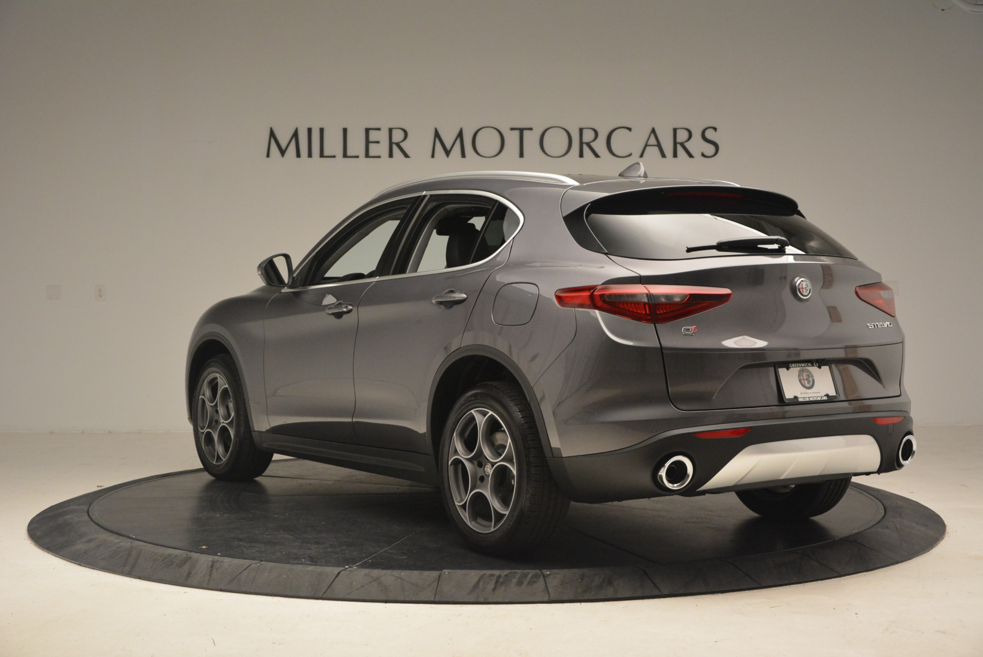 New 2018 Alfa Romeo Stelvio Sport Q4 For Sale In Greenwich, CT 1381_p5