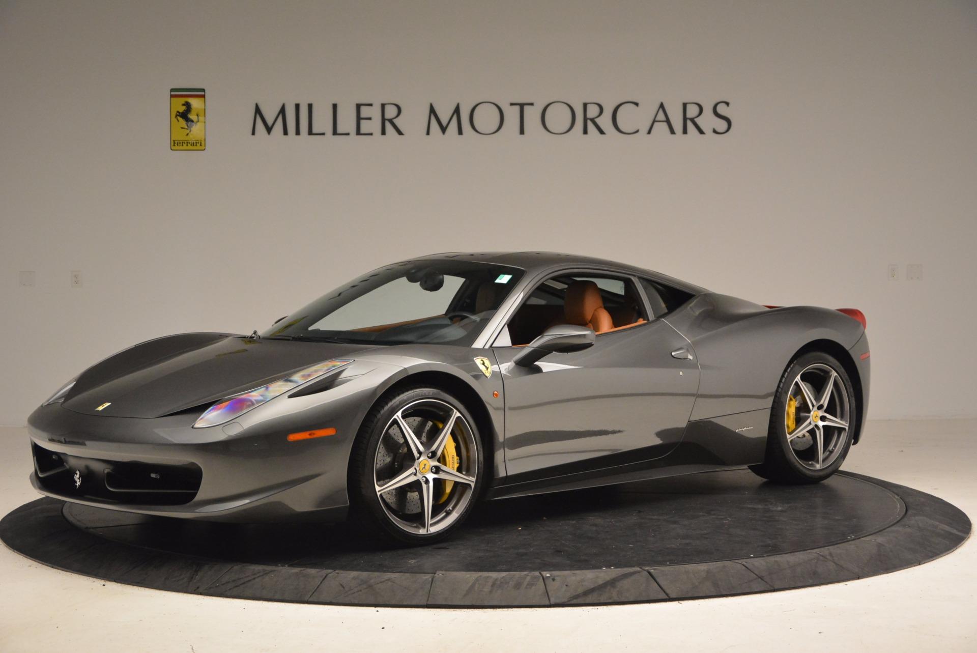 Used 2011 Ferrari 458 Italia  For Sale In Greenwich, CT 1385_p2