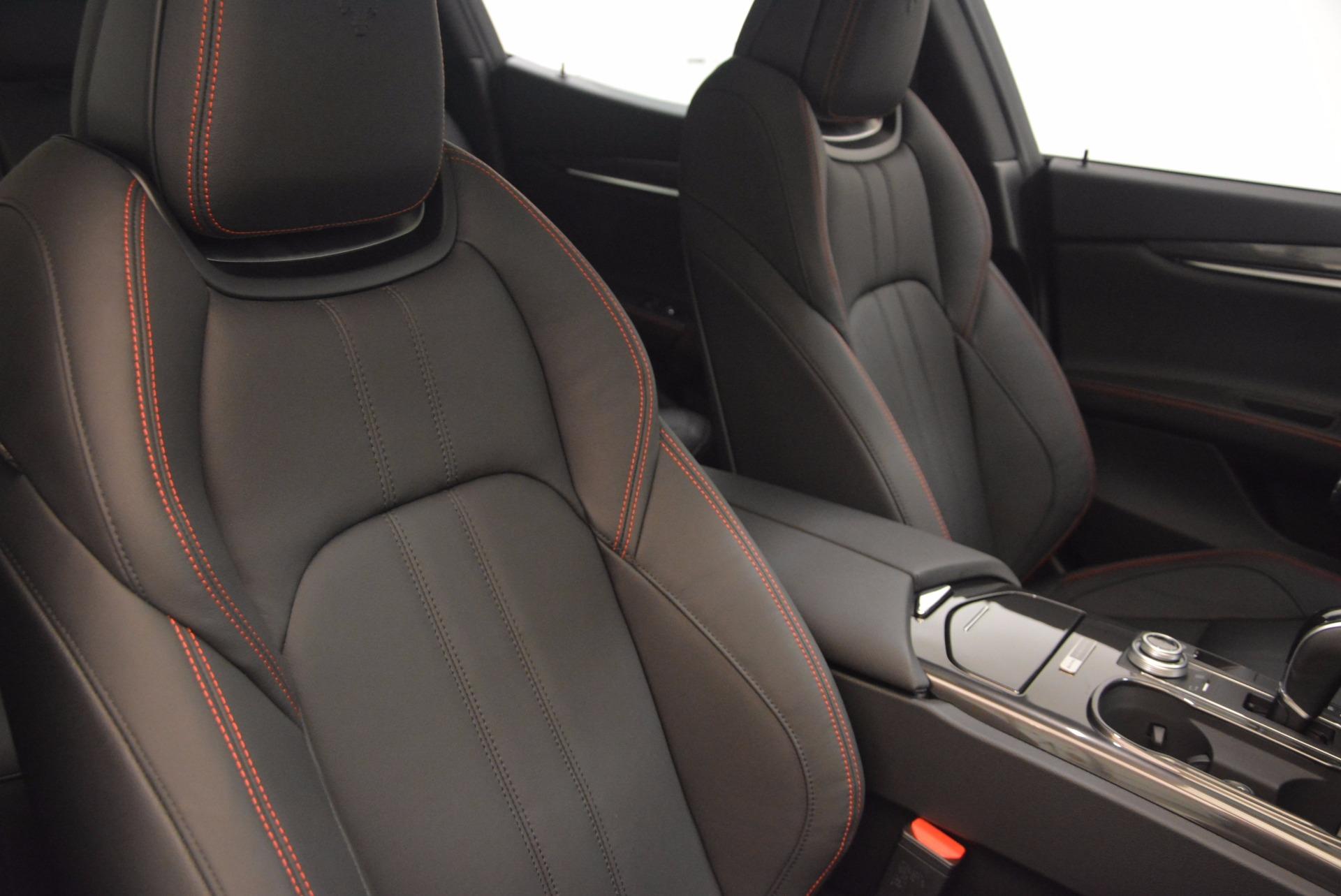 New 2017 Maserati Ghibli Nerissimo Edition S Q4 For Sale In Greenwich, CT 1391_p21