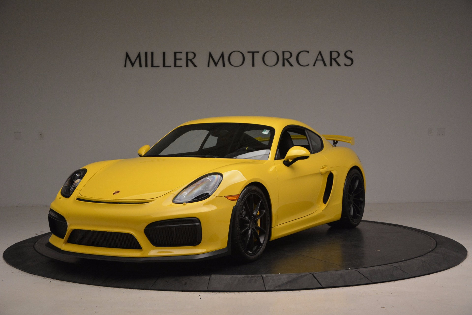 Used 2016 Porsche Cayman GT4 For Sale In Greenwich, CT 1401_main