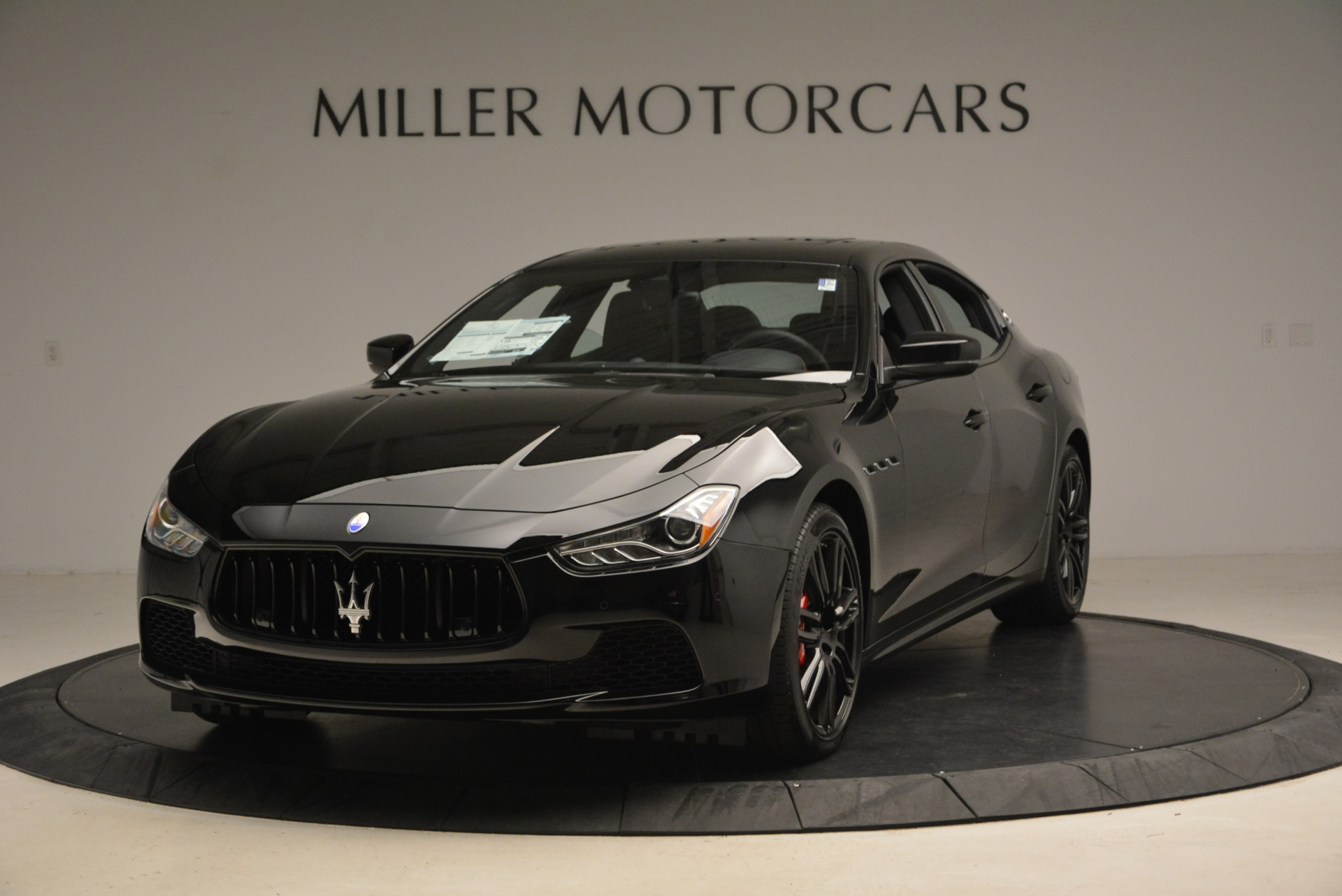 New 2017 Maserati Ghibli Nerissimo Edition S Q4 For Sale In Greenwich, CT