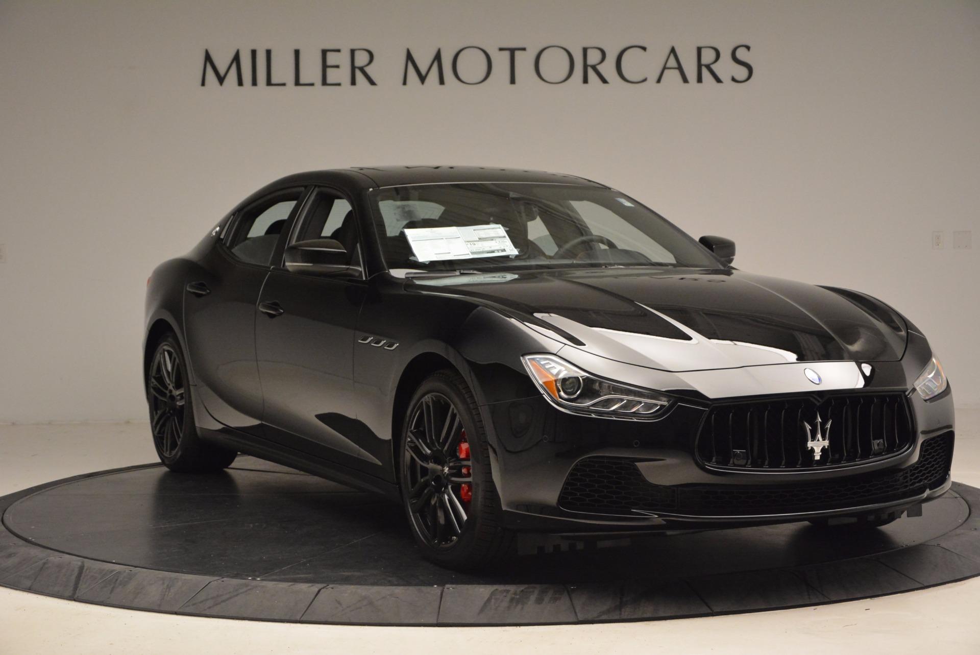 New 2017 Maserati Ghibli Nerissimo Edition S Q4 For Sale In Greenwich, CT 1419_p11