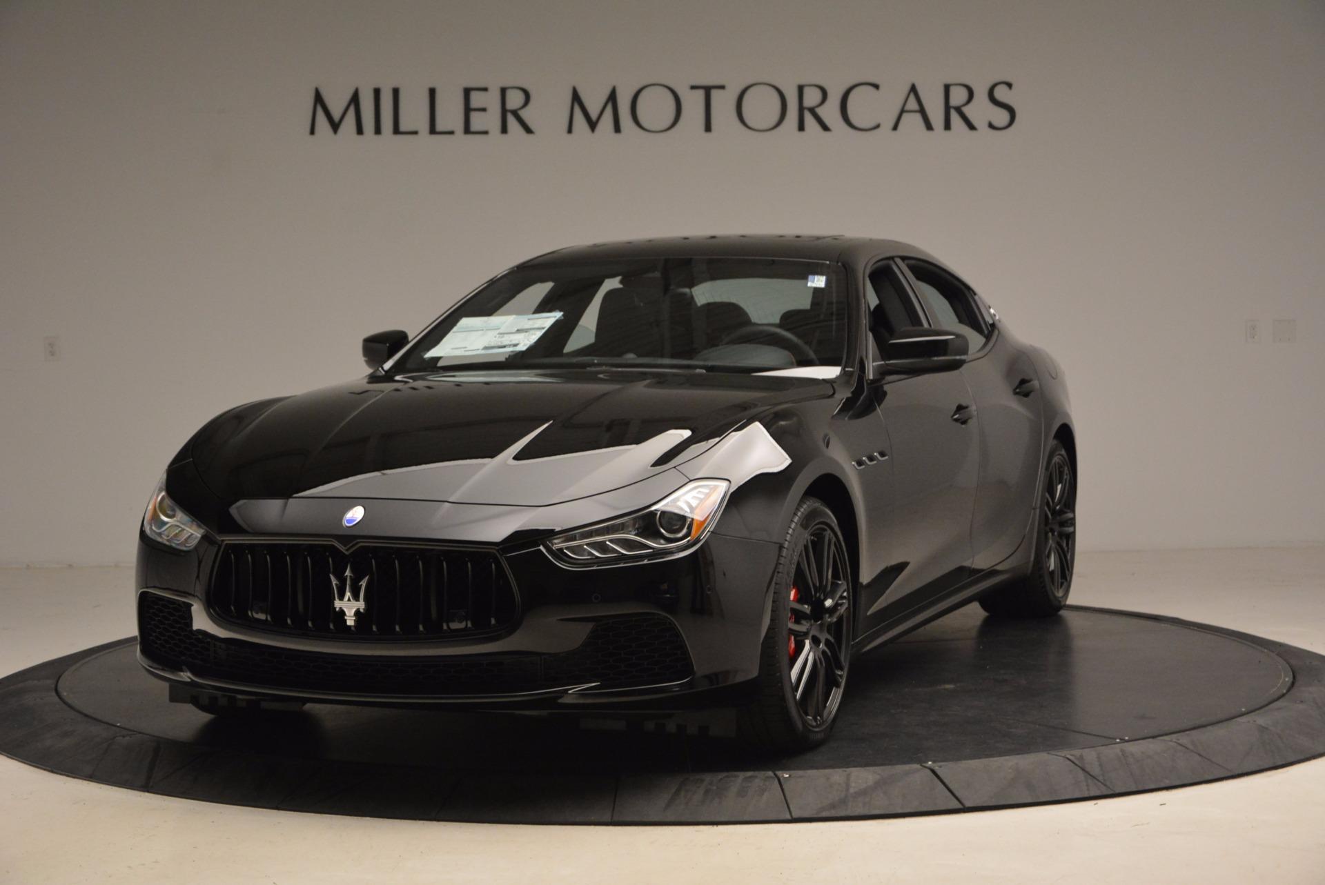 New 2017 Maserati Ghibli Nerissimo Edition S Q4 For Sale In Greenwich, CT 1420_main