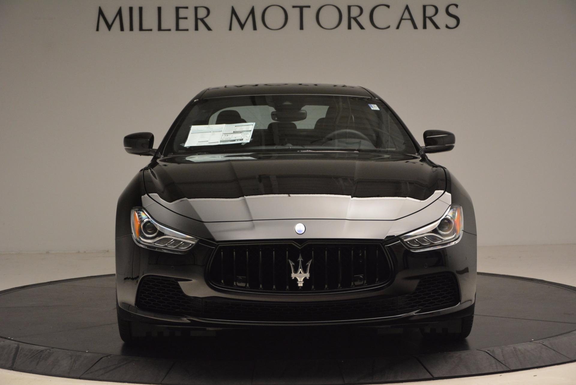 New 2017 Maserati Ghibli Nerissimo Edition S Q4 For Sale In Greenwich, CT 1420_p12
