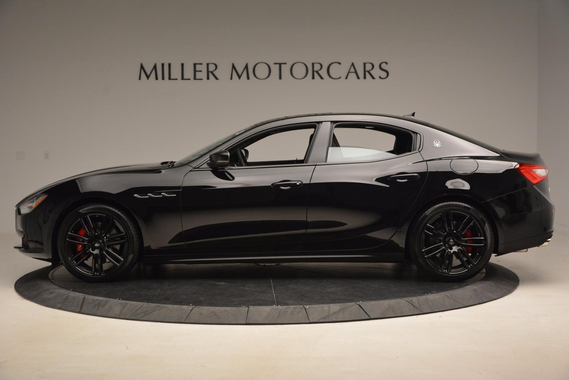 New 2017 Maserati Ghibli Nerissimo Edition S Q4 For Sale In Greenwich, CT 1420_p3