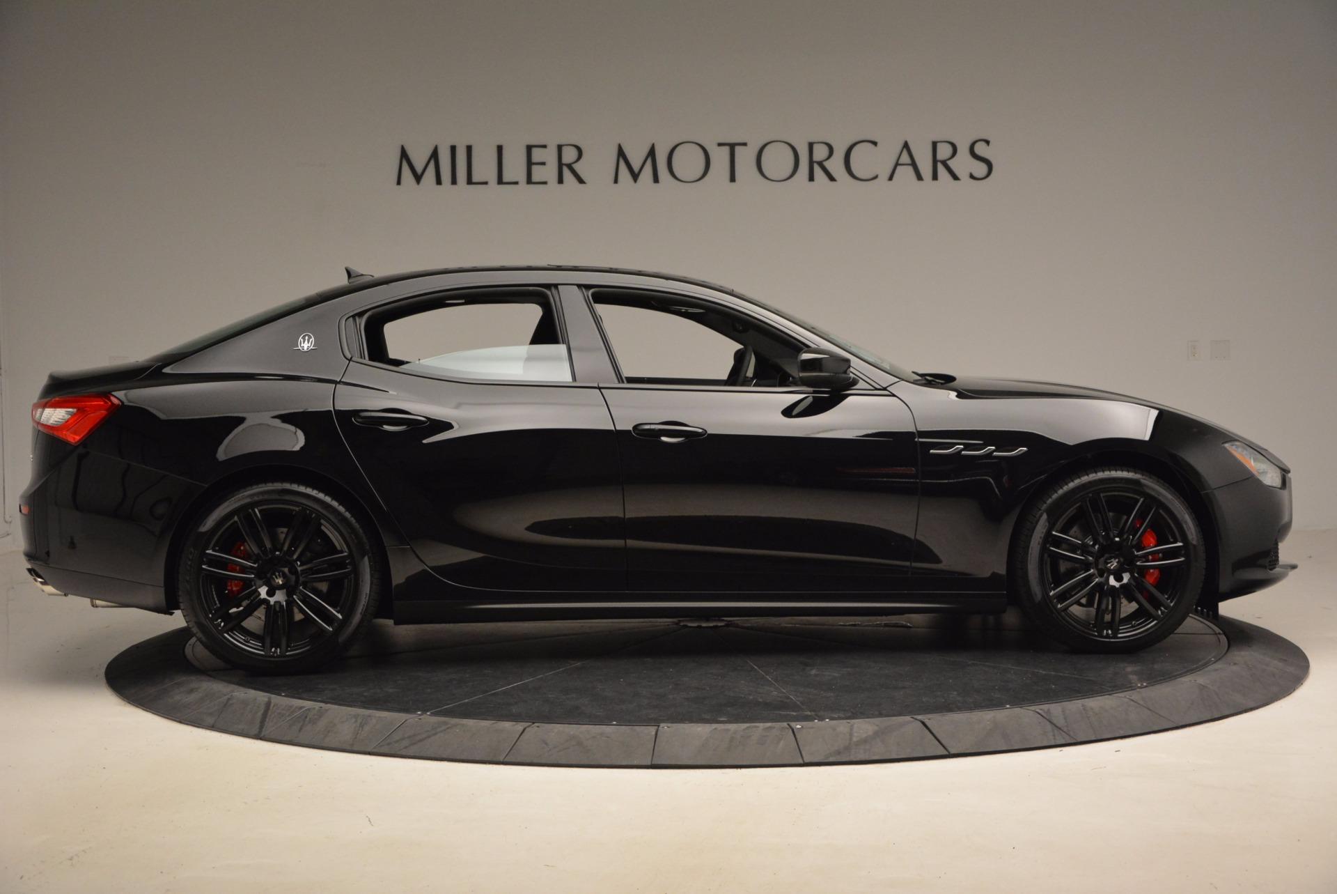 New 2017 Maserati Ghibli Nerissimo Edition S Q4 For Sale In Greenwich, CT 1420_p9