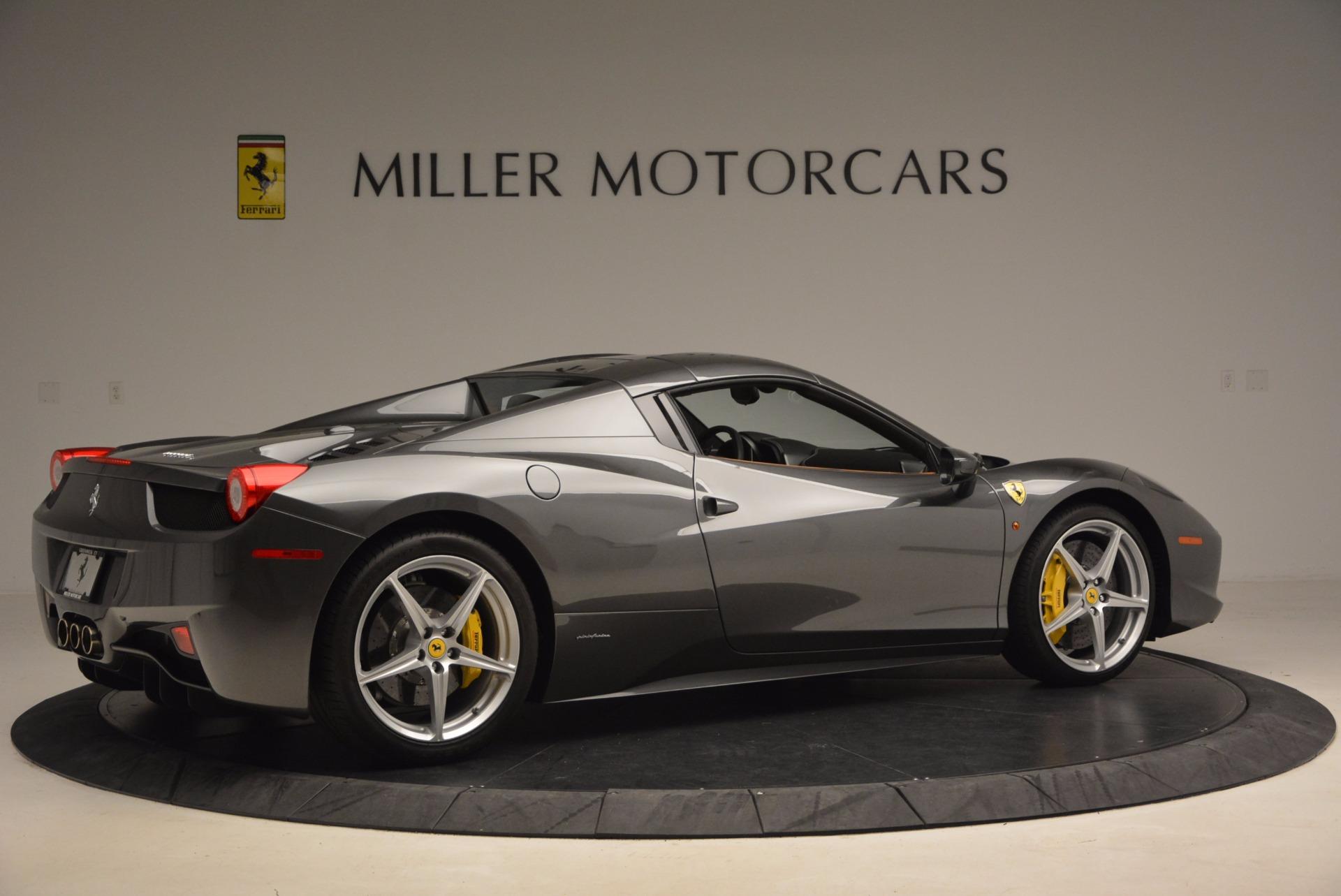 Used 2015 Ferrari 458 Spider  For Sale In Greenwich, CT 1423_p20