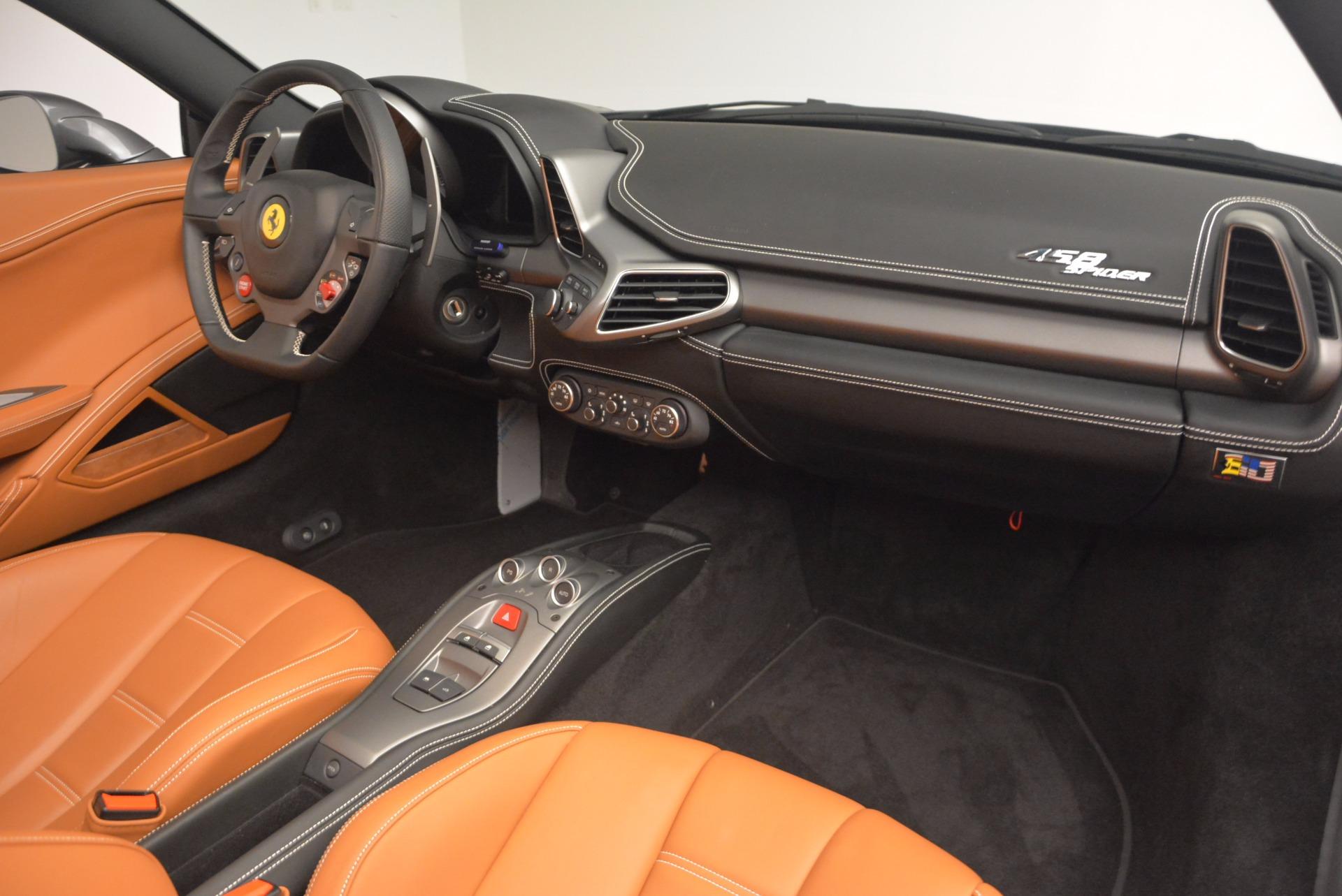 Used 2015 Ferrari 458 Spider  For Sale In Greenwich, CT 1423_p29