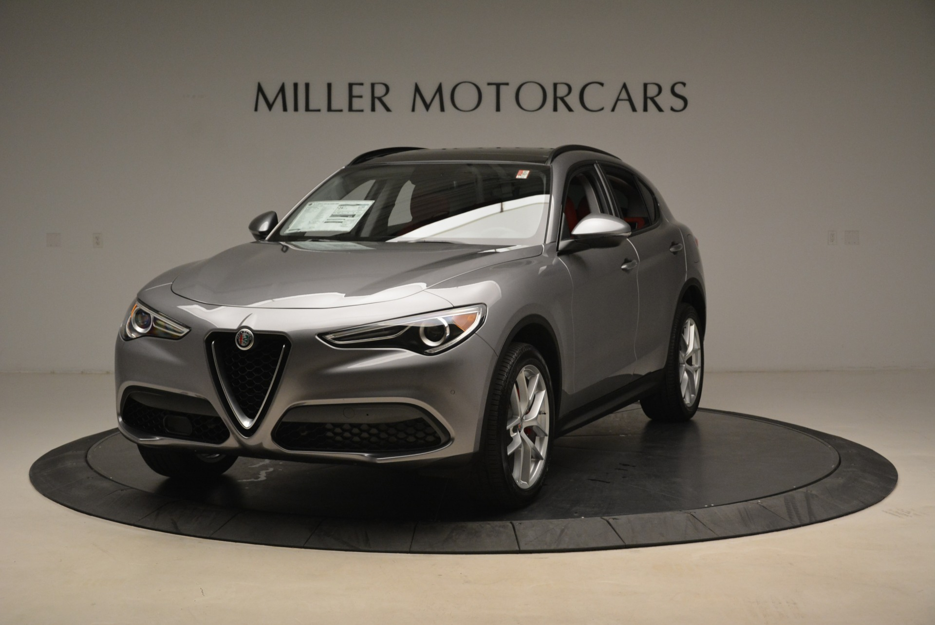 New 2018 Alfa Romeo Stelvio Ti Sport Q4 For Sale In Greenwich, CT 1427_main