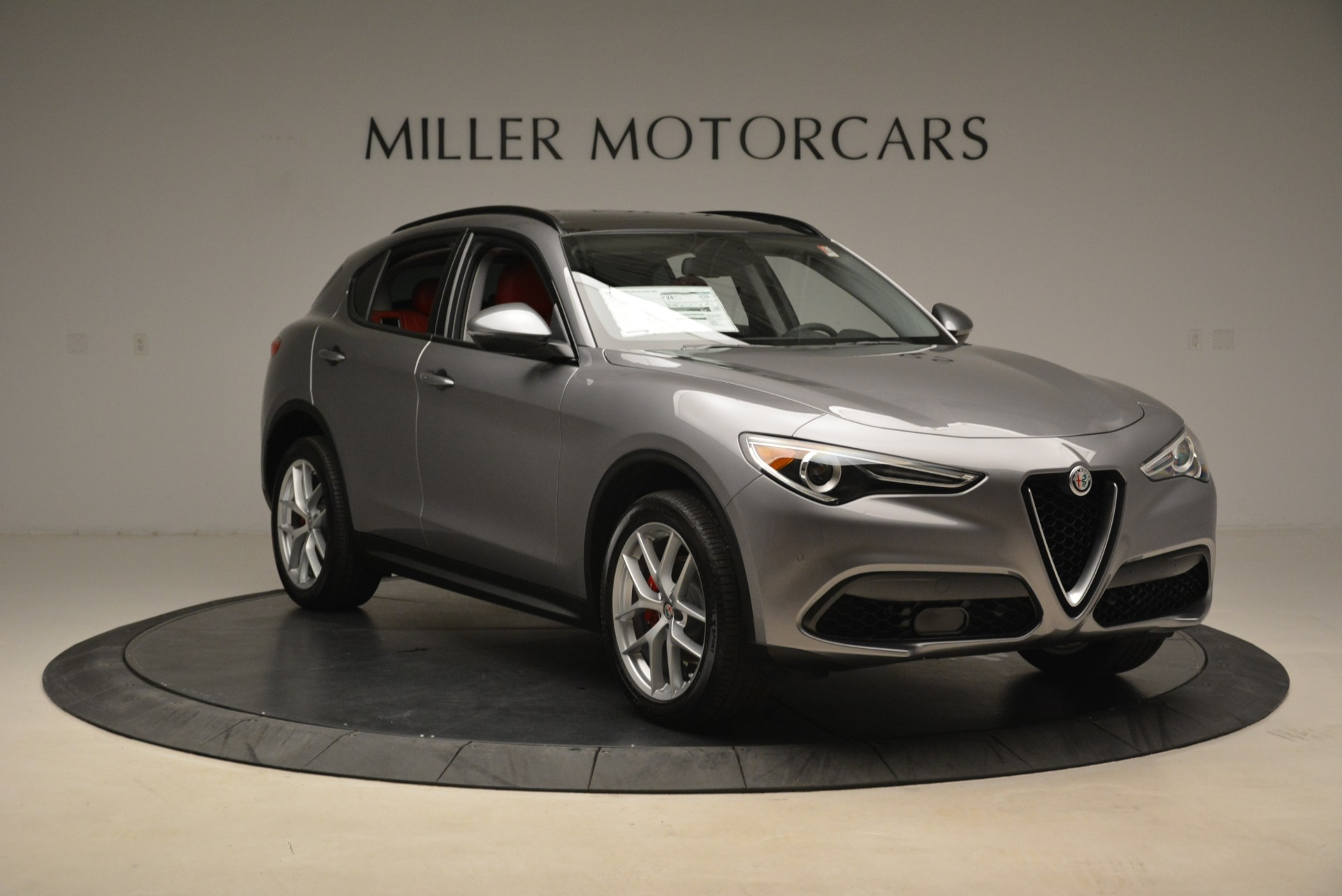 New 2018 Alfa Romeo Stelvio Ti Sport Q4 For Sale In Greenwich, CT 1427_p11