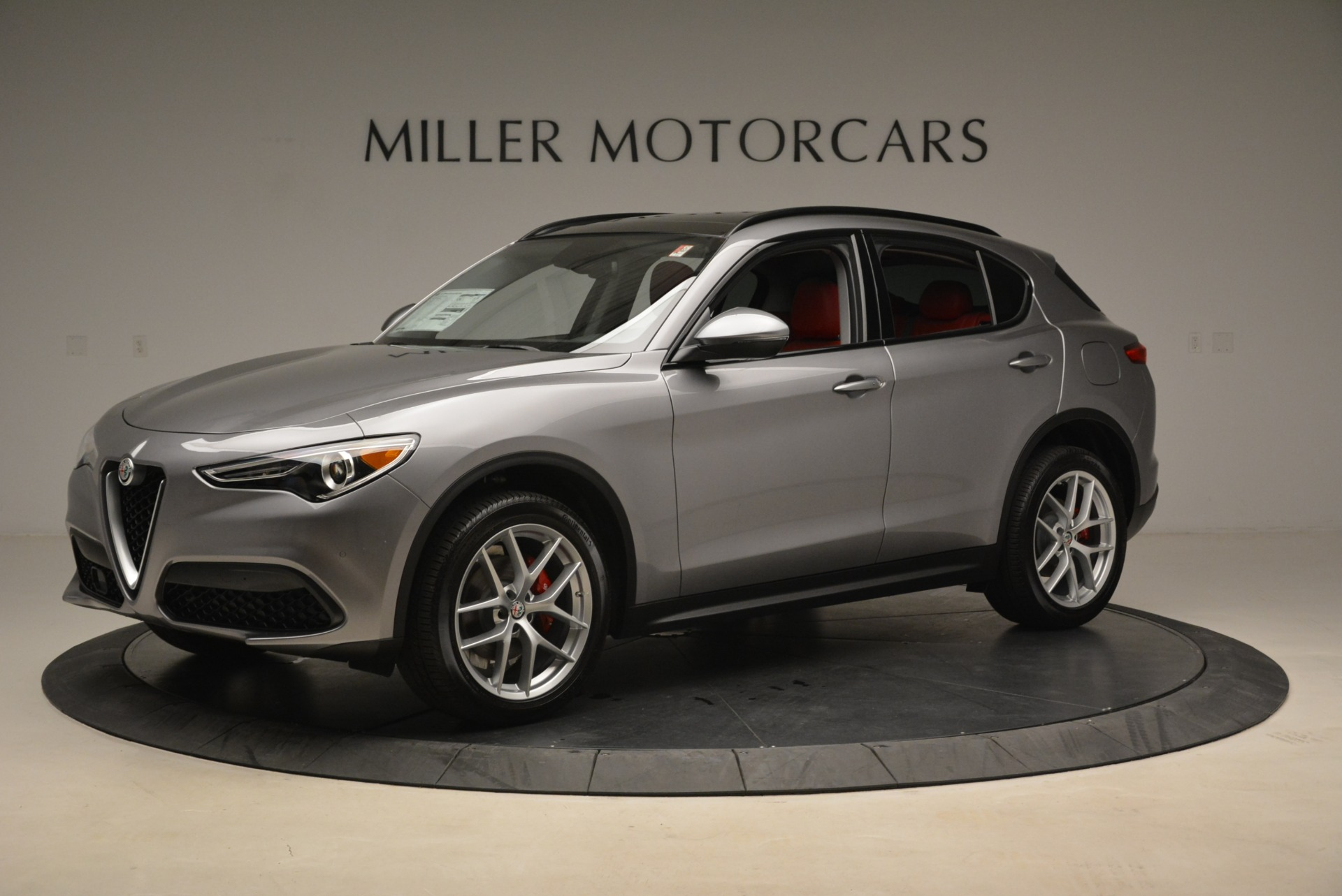 New 2018 Alfa Romeo Stelvio Ti Sport Q4 For Sale In Greenwich, CT 1427_p2
