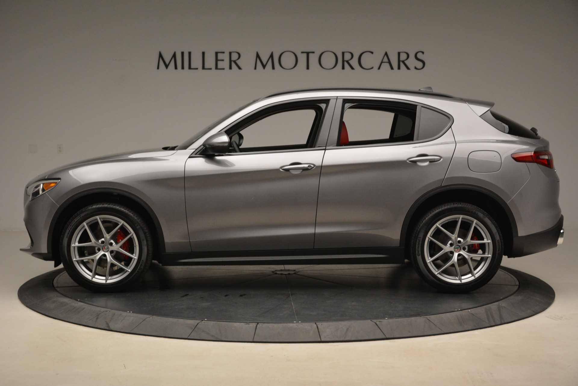 New 2018 Alfa Romeo Stelvio Ti Sport Q4 For Sale In Greenwich, CT 1427_p3