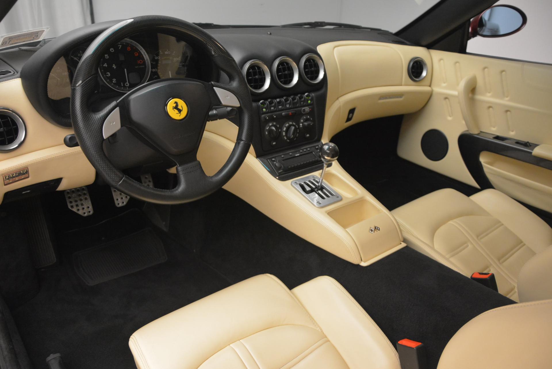 Used 2003 Ferrari 575M Maranello 6-Speed Manual For Sale In Greenwich, CT 143_p13