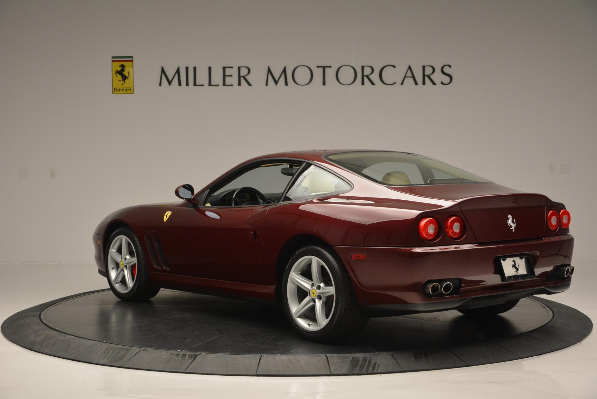 Used 2003 Ferrari 575M Maranello 6-Speed Manual For Sale In Greenwich, CT 143_p5
