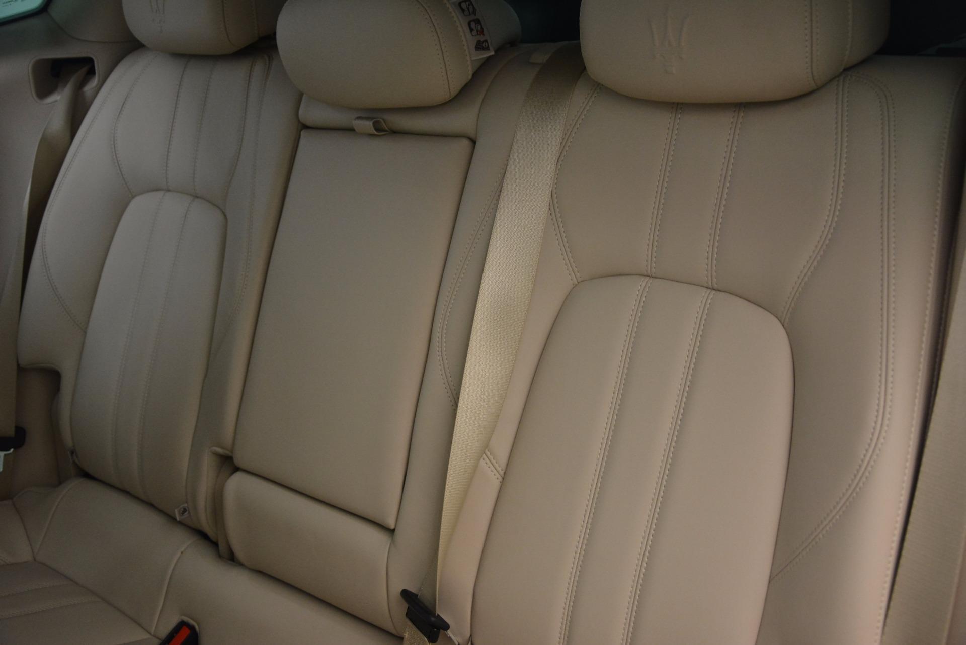 Used 2017 Maserati Levante S For Sale In Greenwich, CT 1463_p18