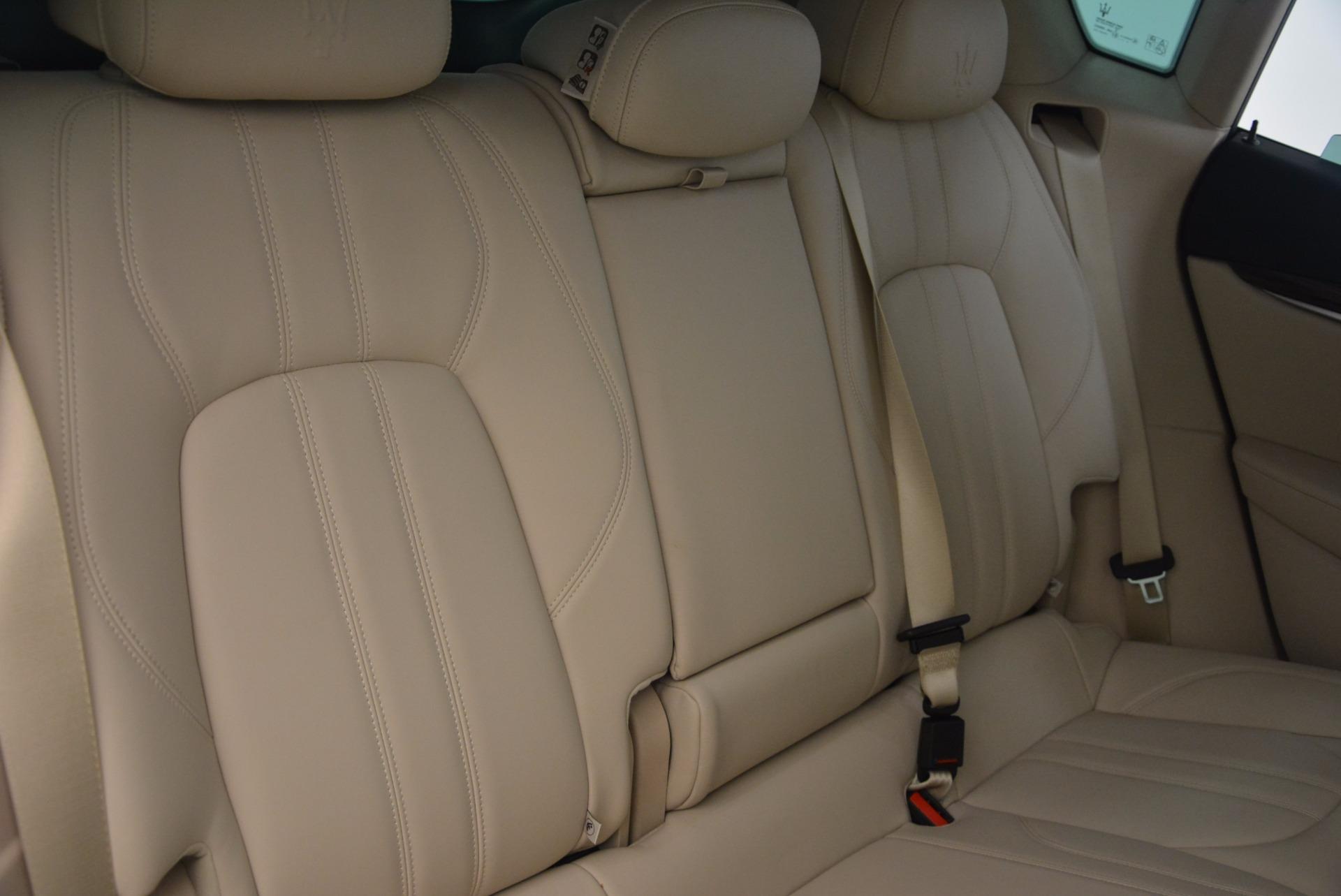 Used 2017 Maserati Levante S For Sale In Greenwich, CT 1463_p24