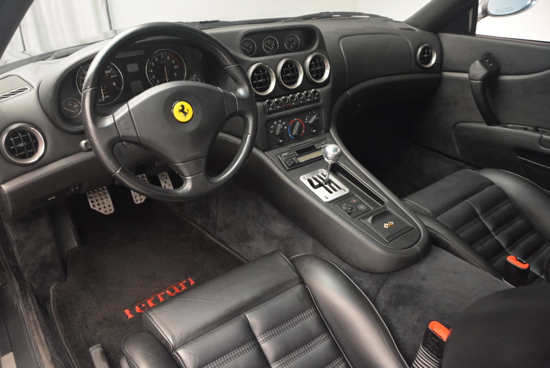 Used 1997 Ferrari 550 Maranello  For Sale In Greenwich, CT 147_p13