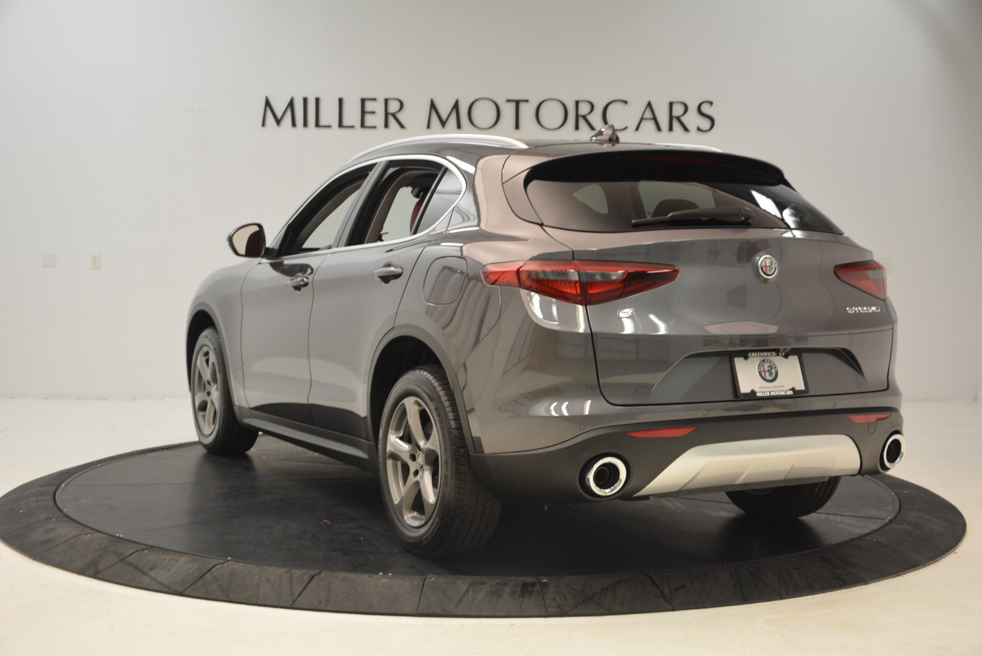 New 2018 Alfa Romeo Stelvio Q4 For Sale In Greenwich, CT 1490_p5